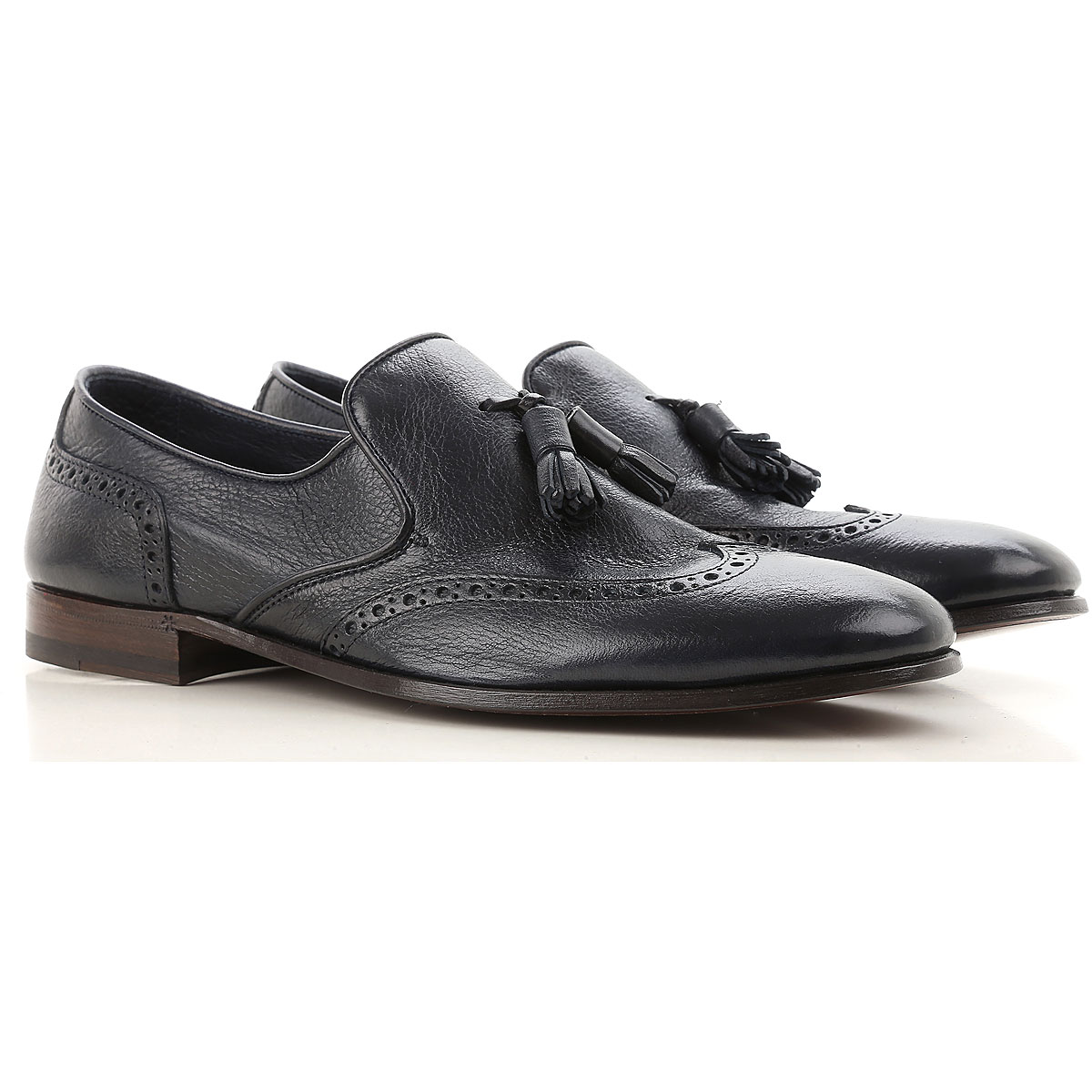 Image of Henderson Loafers for Men, Blue Ink, Leather, 2017, 10 10.5 11 11.5 6 7.5 8 8.5 9 9.5