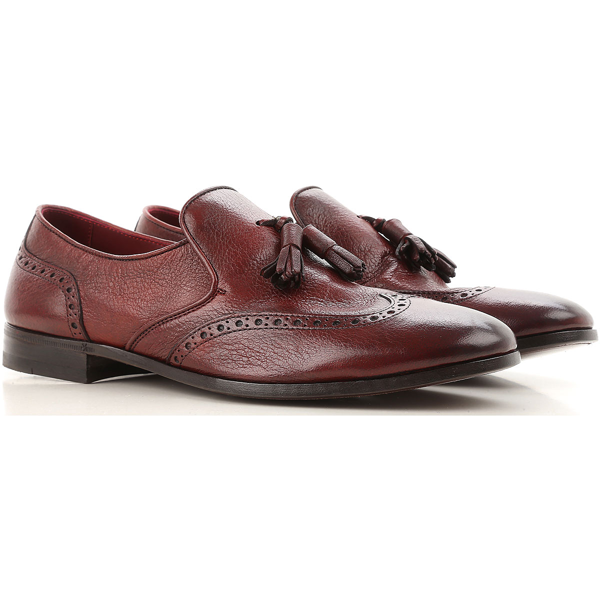 Image of Henderson Loafers for Men, Bordeaux, Leather, 2017, 10 10.5 8 8.5 9 9.5