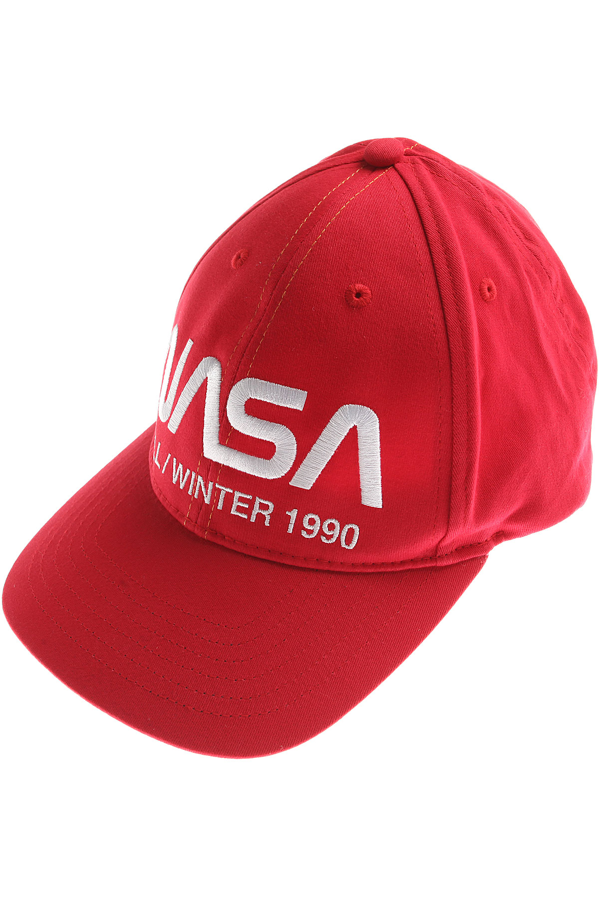 Image of Heron Preston Hat for Women, Red, Cotton, 2017