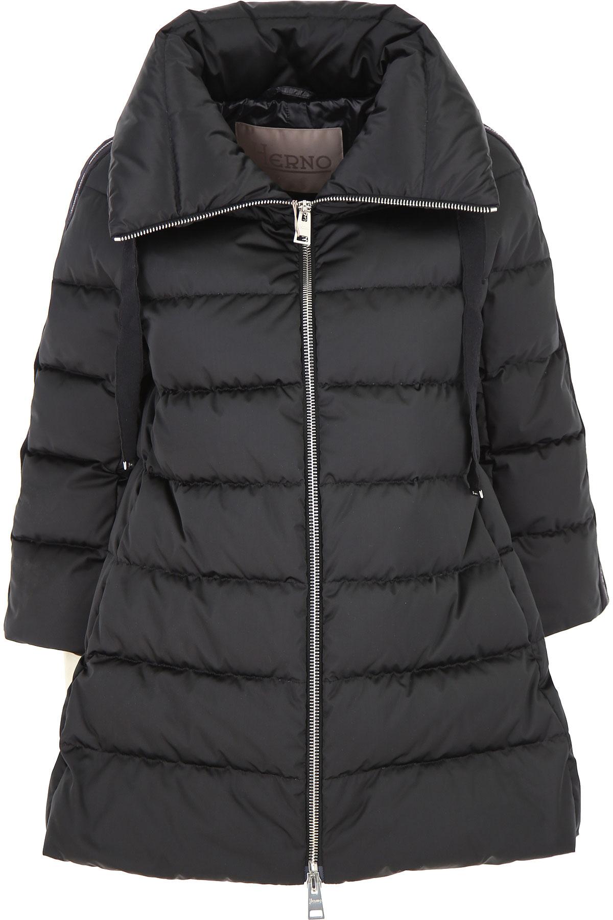 Herno Down Jacket for Women, Puffer Ski Jacket On Sale, Black, Down, 2019, 10 12 2 4 6 8