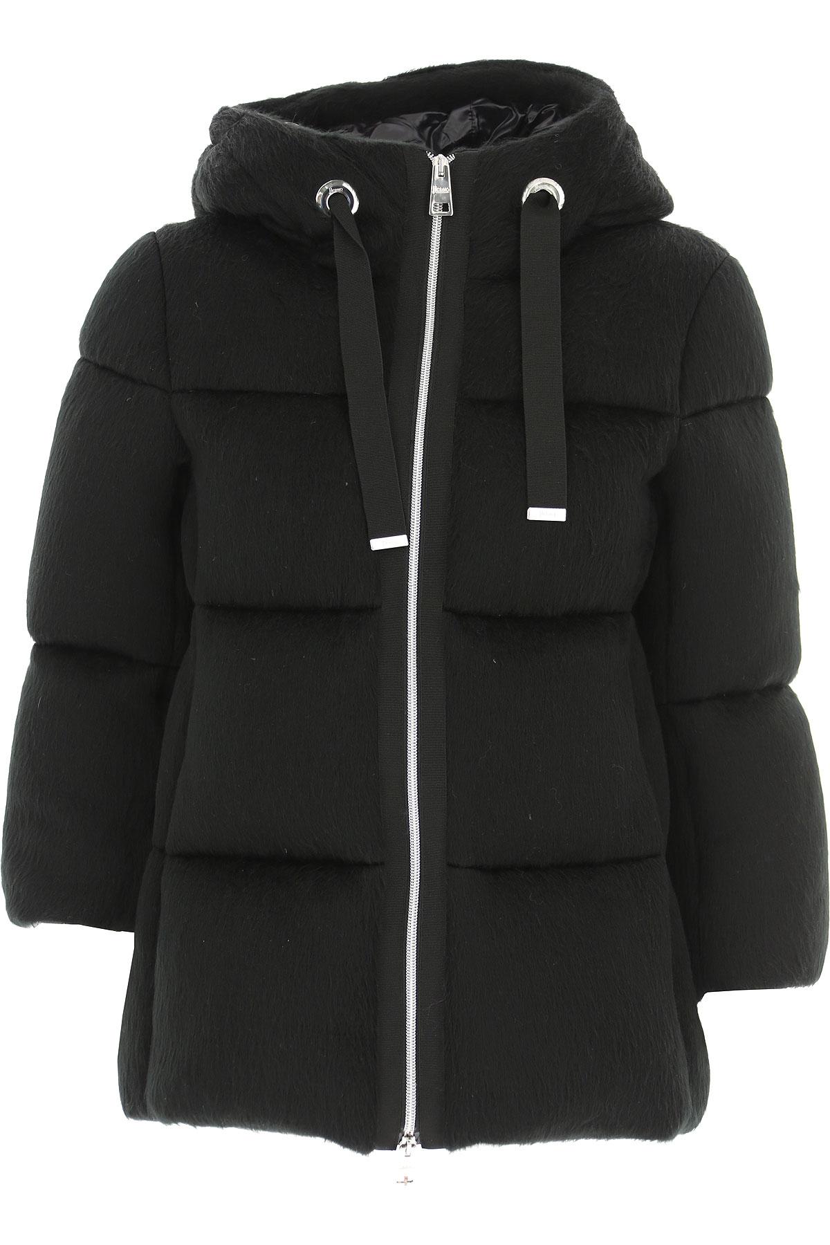 Herno Down Jacket for Women, Puffer Ski Jacket On Sale, Black, Acrylic, 2019, 10 4 6
