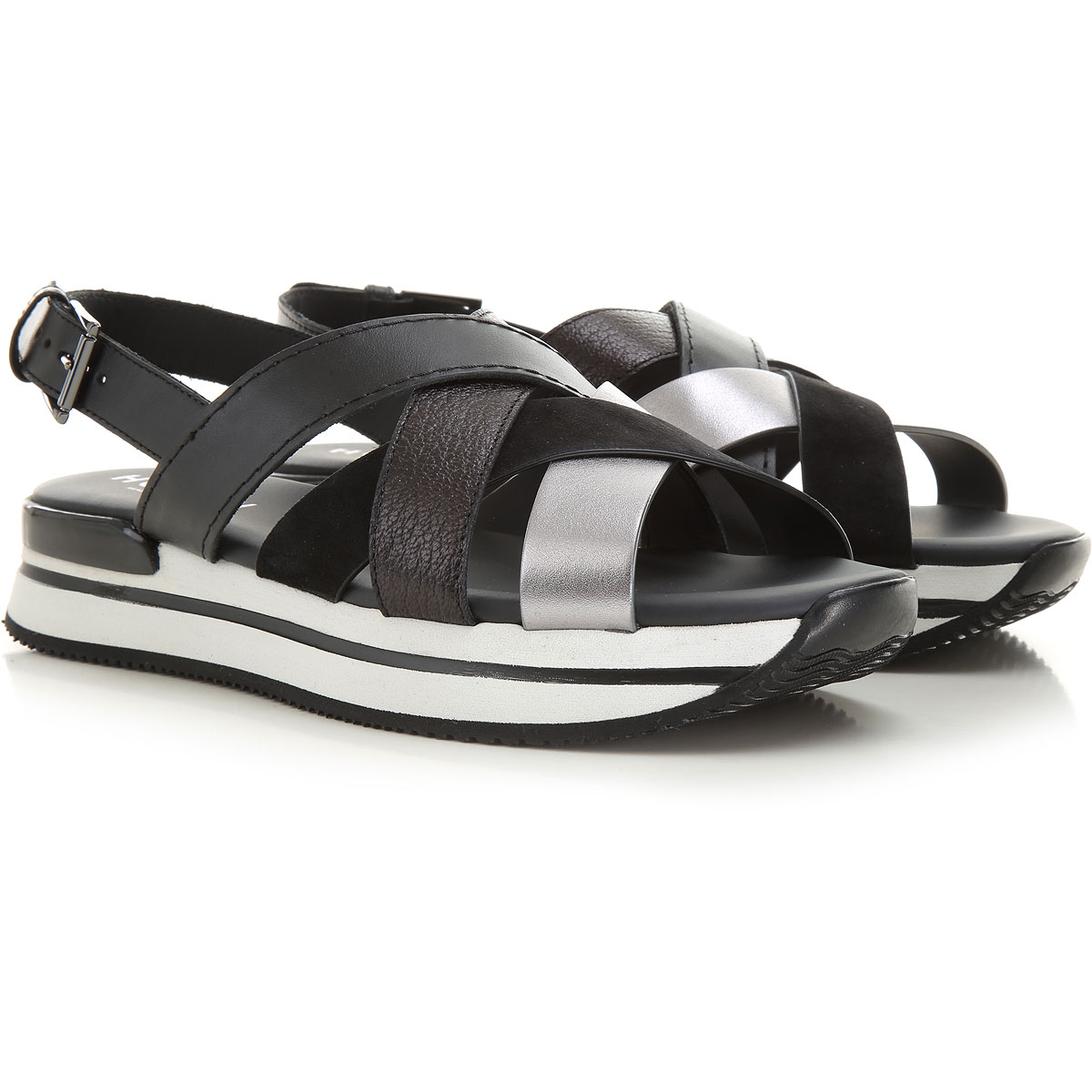 Hogan Sneakers for Women, Black, Leather, 2021, 10 5 5.5 6 6.5 7 8 ...
