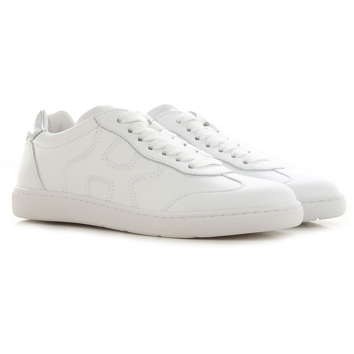Get the Hogan Sneakers for Women, White, Leather, 2021, 10 11 5 ...