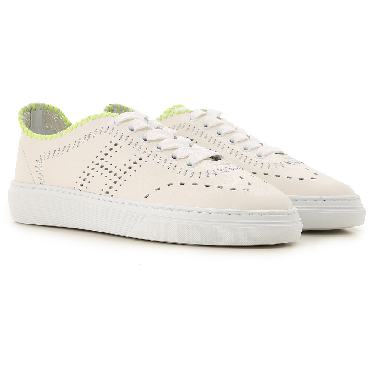 Hogan Sneakers For Women On Sale, Clay, Leather, 2019, 2.5 3.5 4 4.5 6 8.5