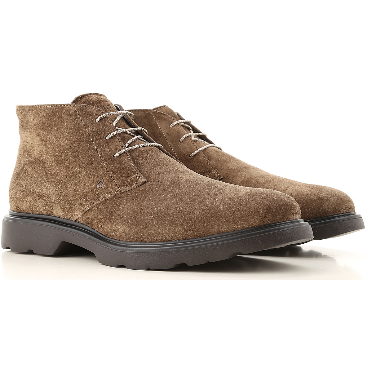 Hogan Desert Boots Chukka for Men On Sale, Mud, Suede leather, 2019, 10.5 7.5 8.5 9.5