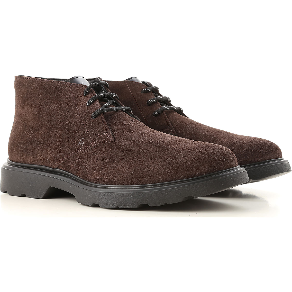Hogan Boots for Men, Booties On Sale, Dark Brown, suede, 2019, 10 7 7.5 9 9.5