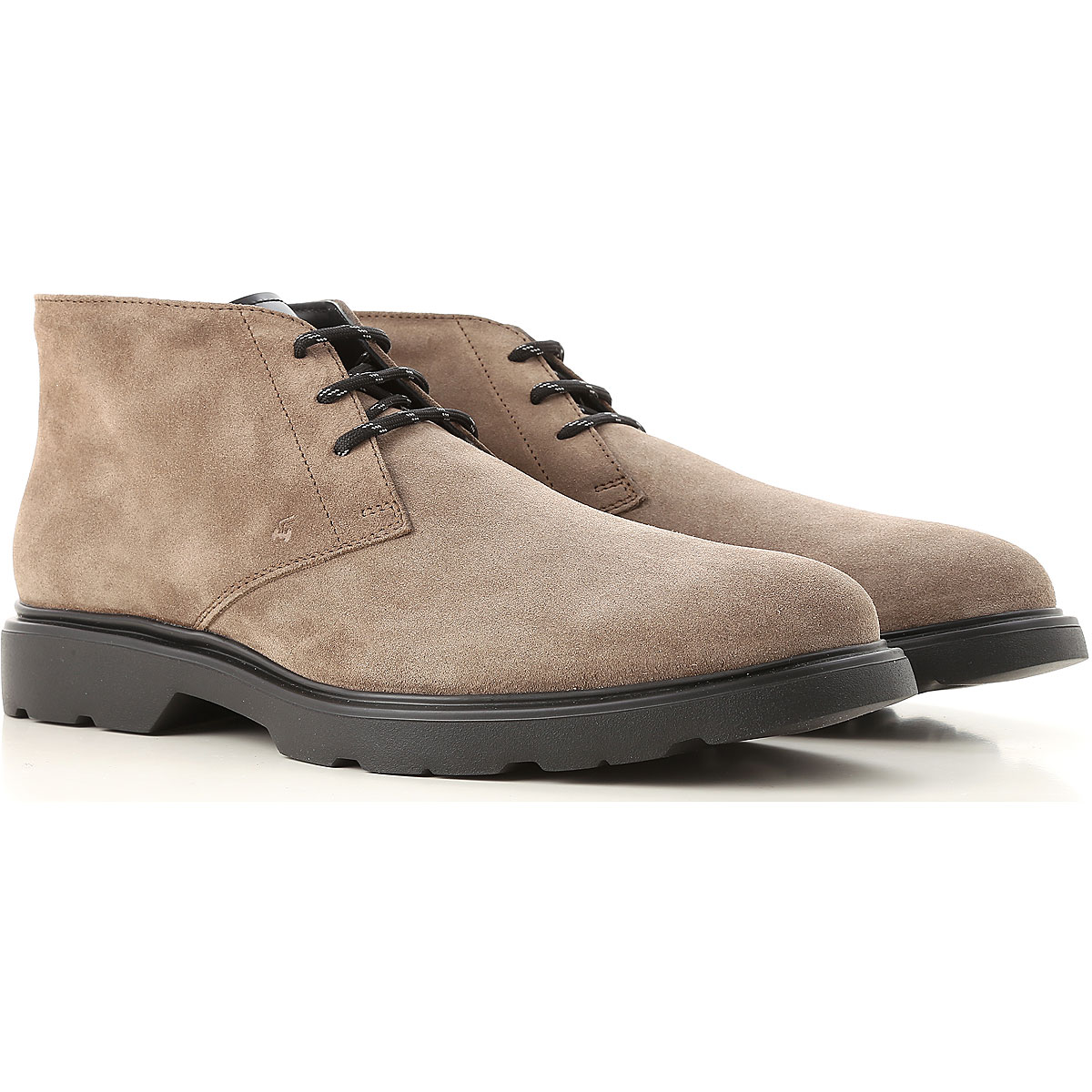 Hogan Boots for Men, Booties On Sale, Sand, Suede leather, 2019, 10 11 12 7 7.5 8