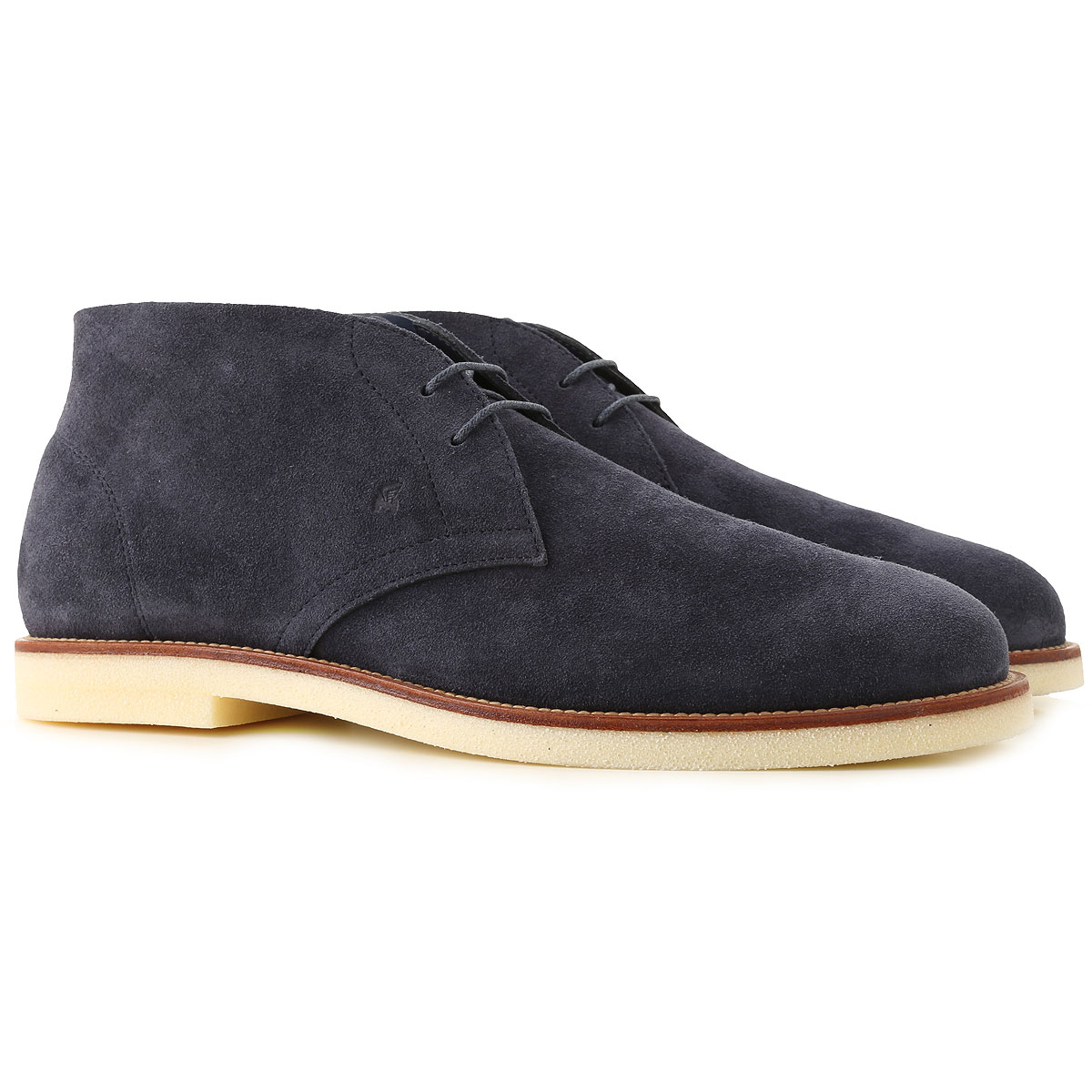 Hogan Desert Boots Chukka for Men On Sale, Blue, Suede leather, 2019, 10 10.5 12 7 7.5 8 8.5 9 9.5
