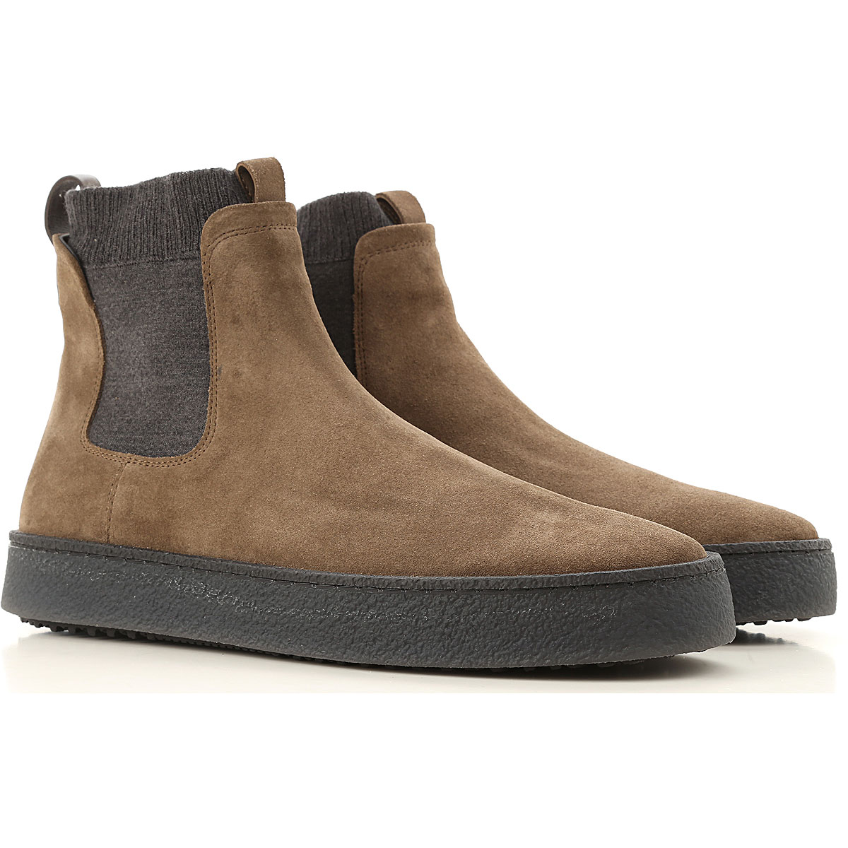 Hogan Desert Boots Chukka for Men On Sale, Mud, suede, 2019, 8 8.5