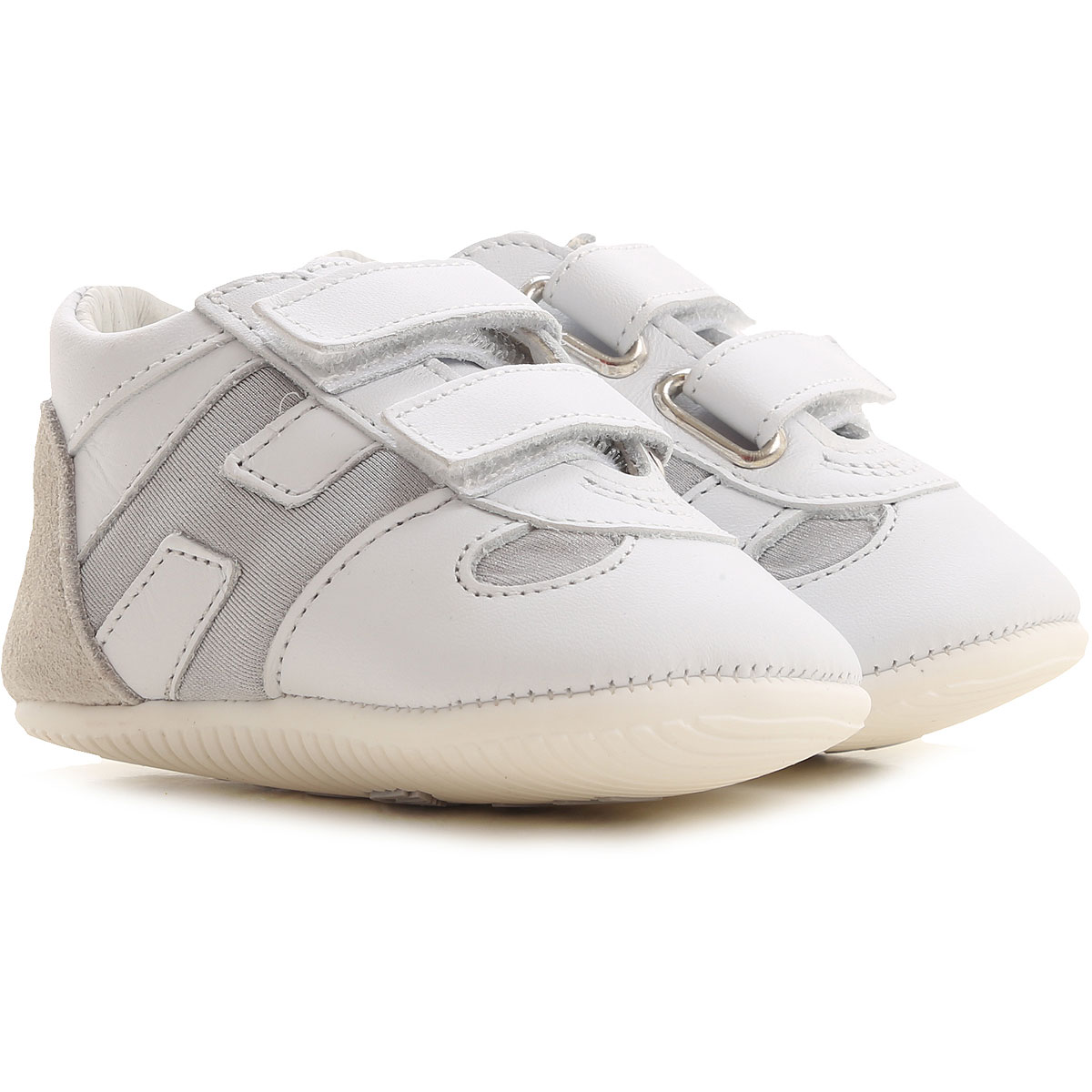 Hogan Baby Shoes for Boys On Sale, White, Leather, 2019, 2.5C 2C 3.5C
