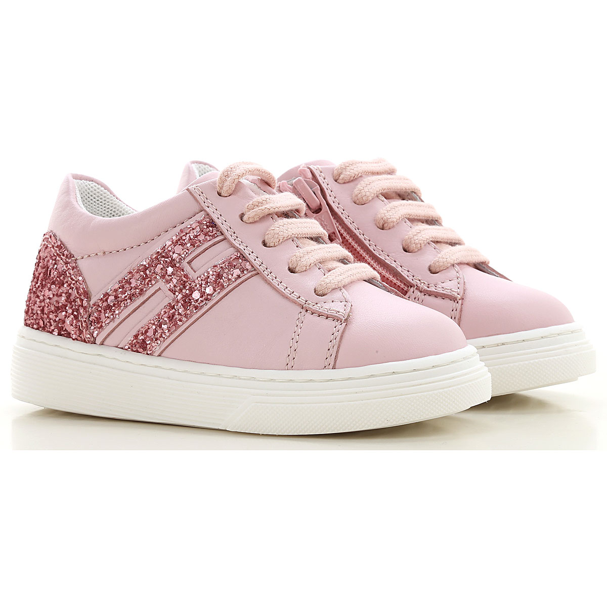 Hogan Girls Clothing On Sale, Pink, Calf Leather, 2019, 24 26