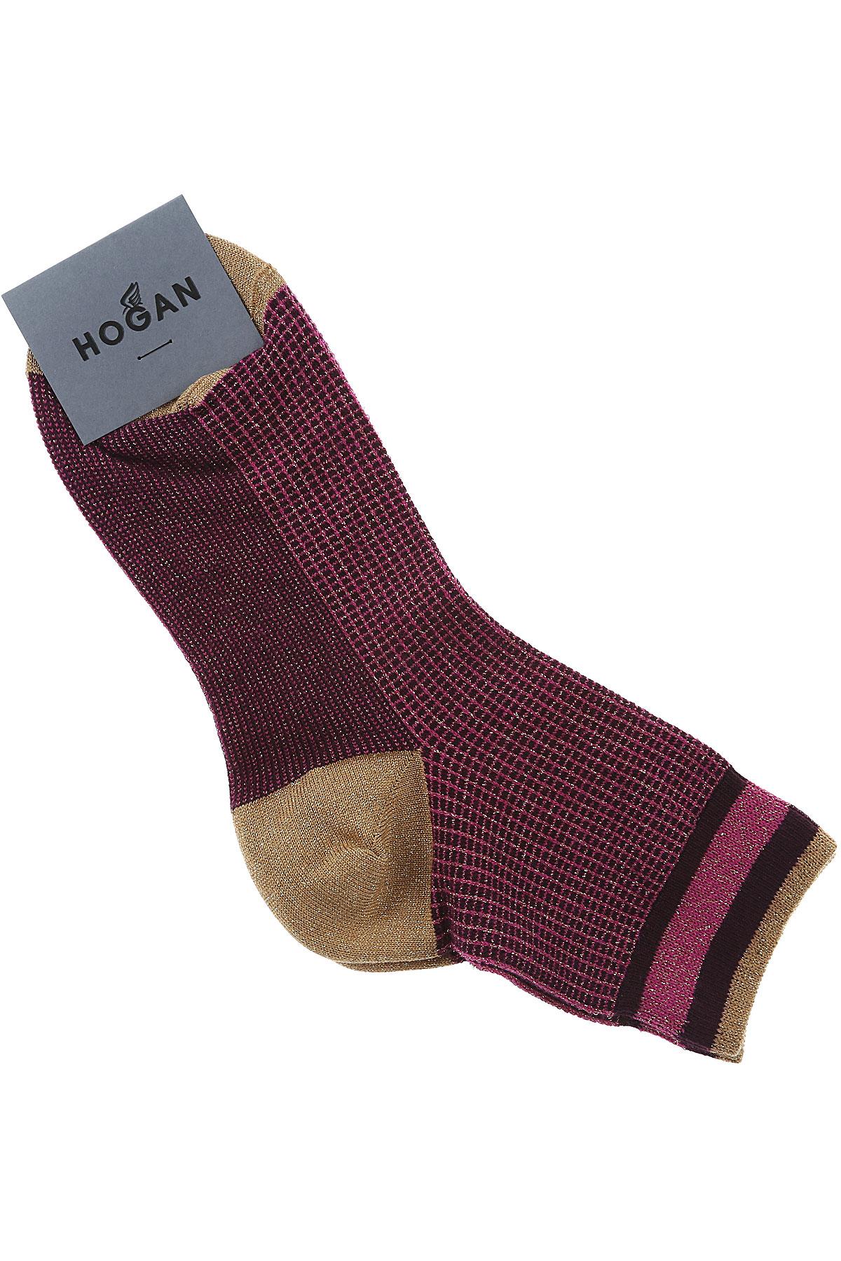 Image of Hogan Socks, Pink, Cotton, 2017