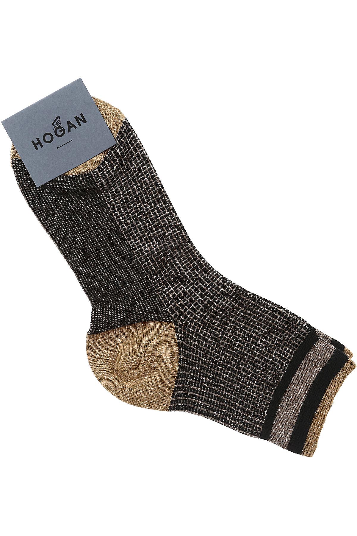 Image of Hogan Socks, Black, Cotton, 2017