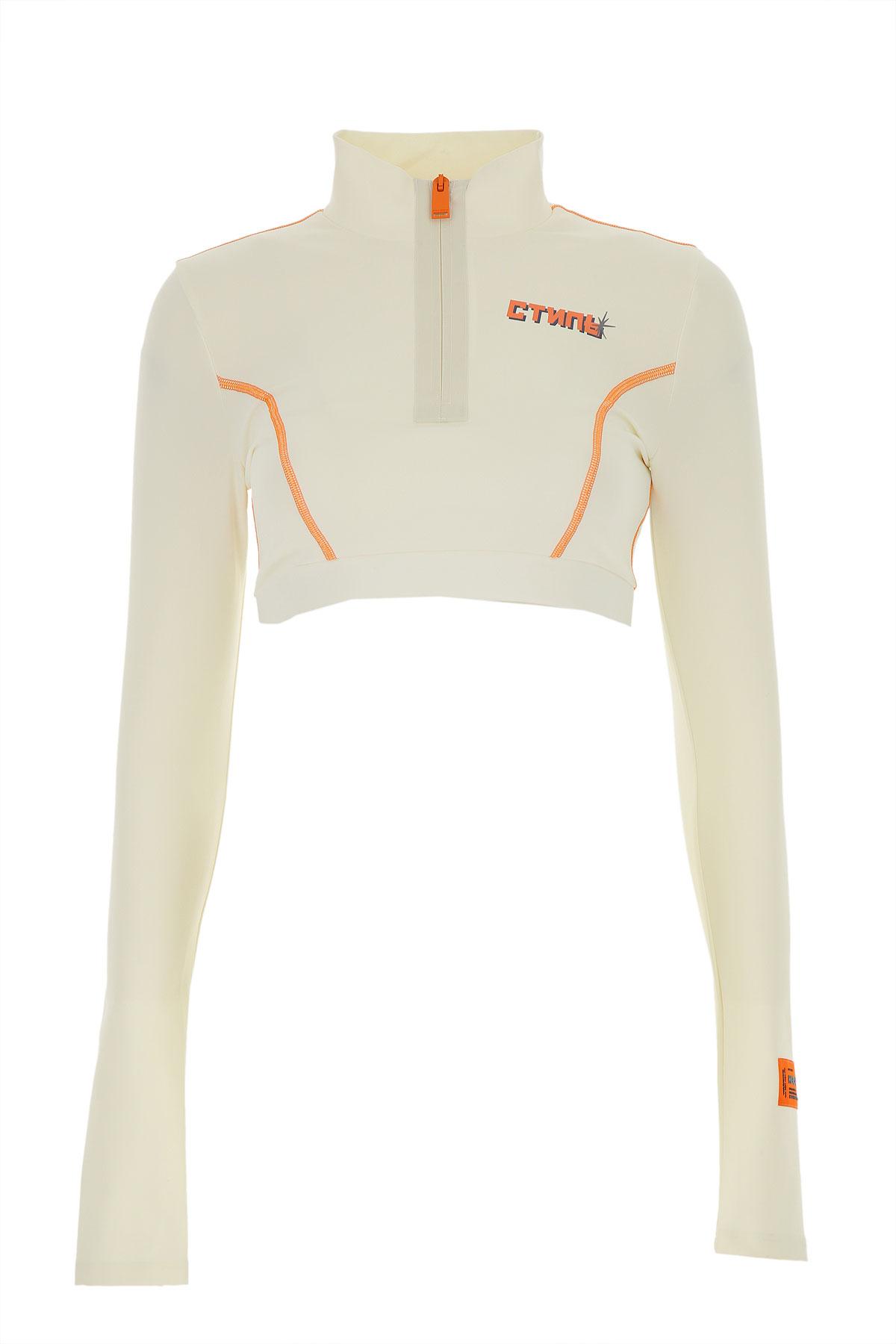 Heron Preston Sweatshirt for Women On Sale, White, polyamide, 2019, 2 4 6