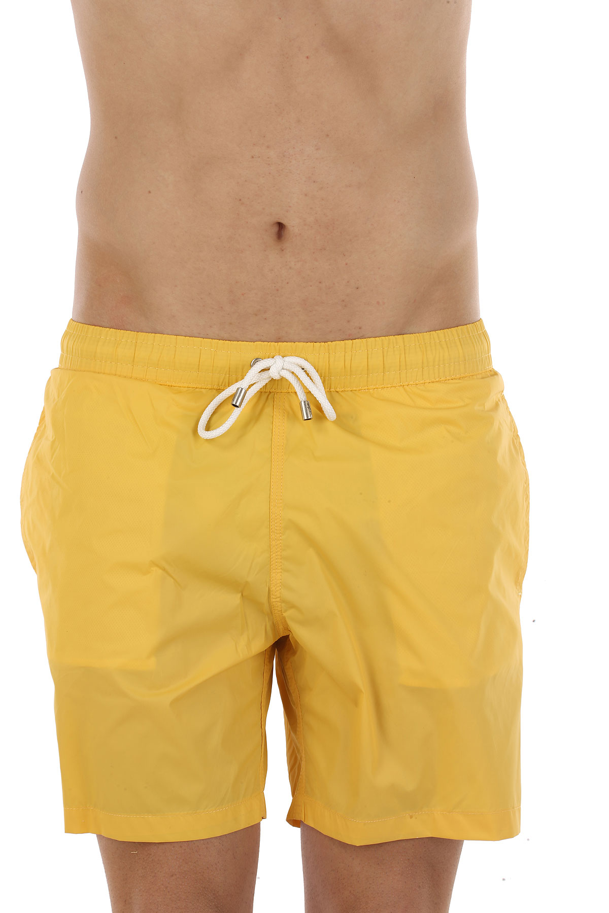 Image of Hartford Swim Shorts Trunks for Men On Sale in Outlet, Yellow, poliammide, 2017, S L XL