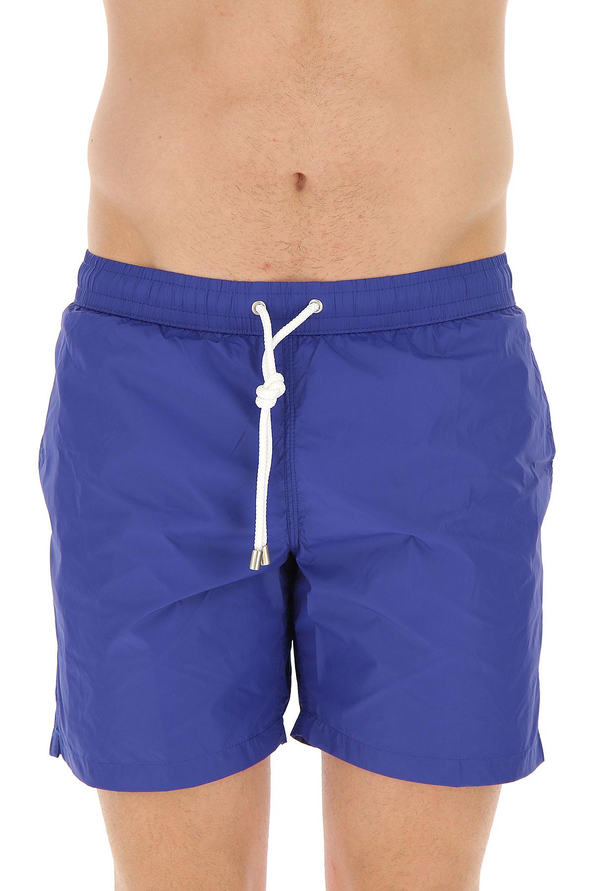 Image of Hartford Swim Shorts Trunks for Men On Sale, Night Blue, polyamide, 2017, M XXL