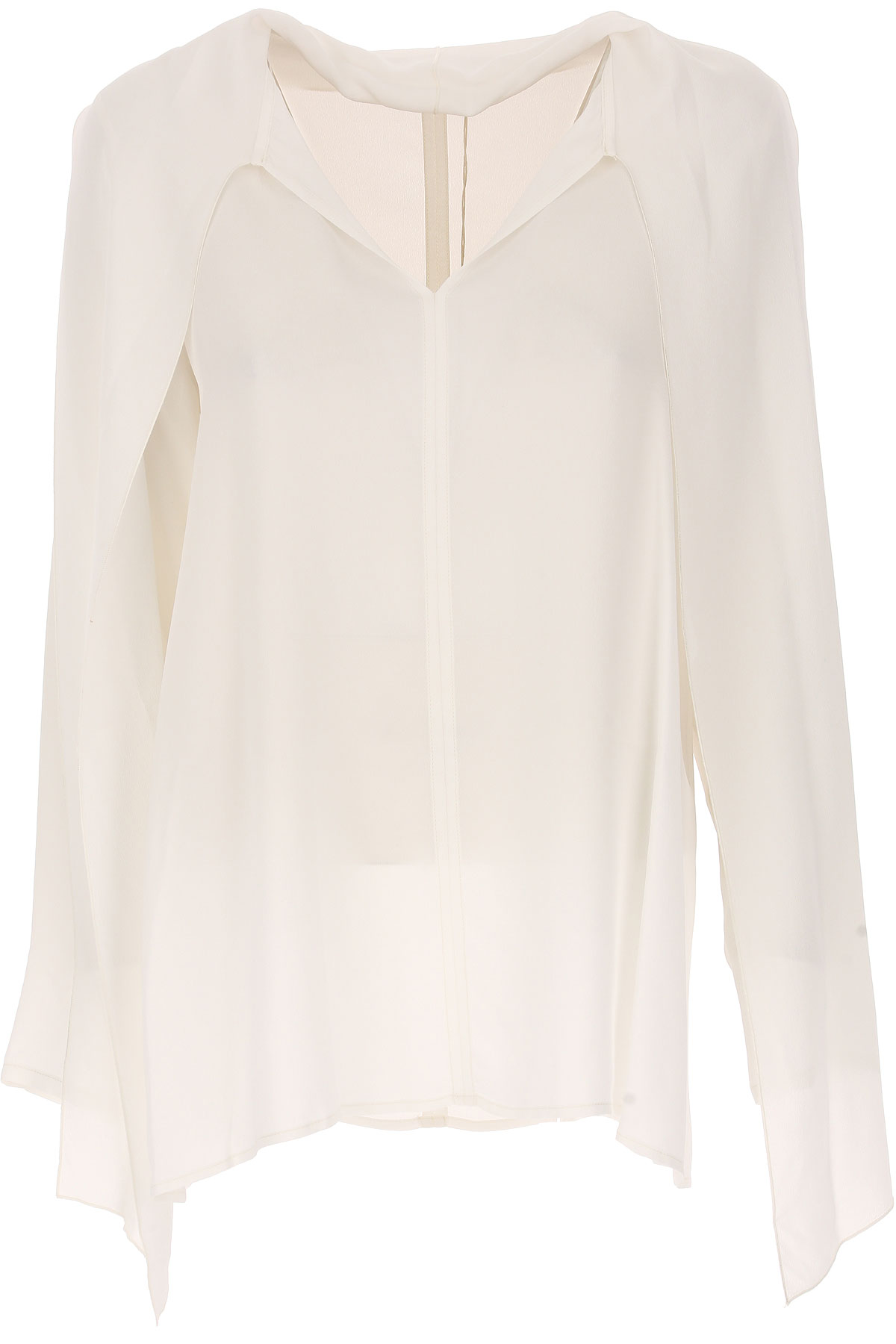 Image of Her Shirt Shirt for Women On Sale, White, Viscose, 2017, 6 8