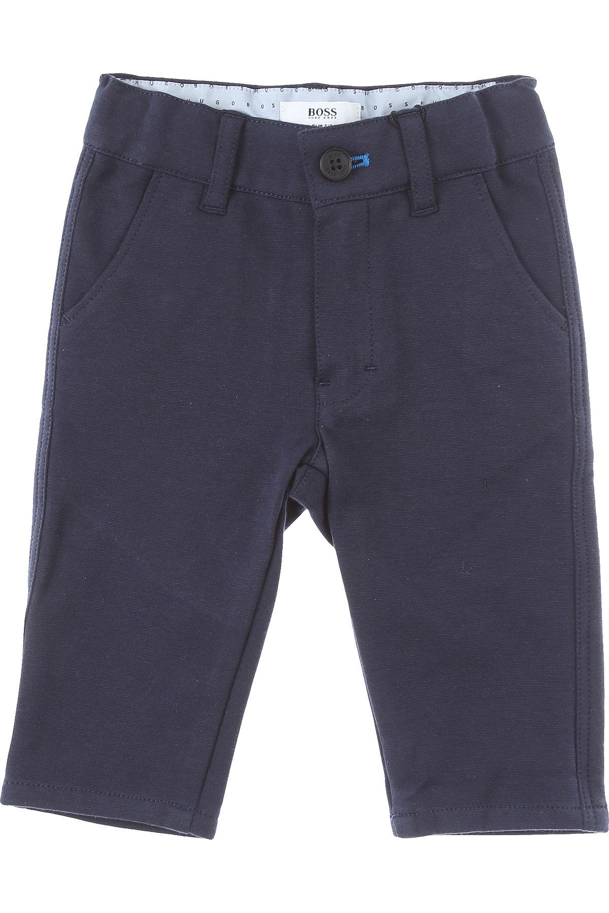 Hugo Boss Baby Pants for Boys On Sale, Navy Blue, Cotton, 2019, 12 M 18 M 2Y 3Y 3Y 6M 9 M