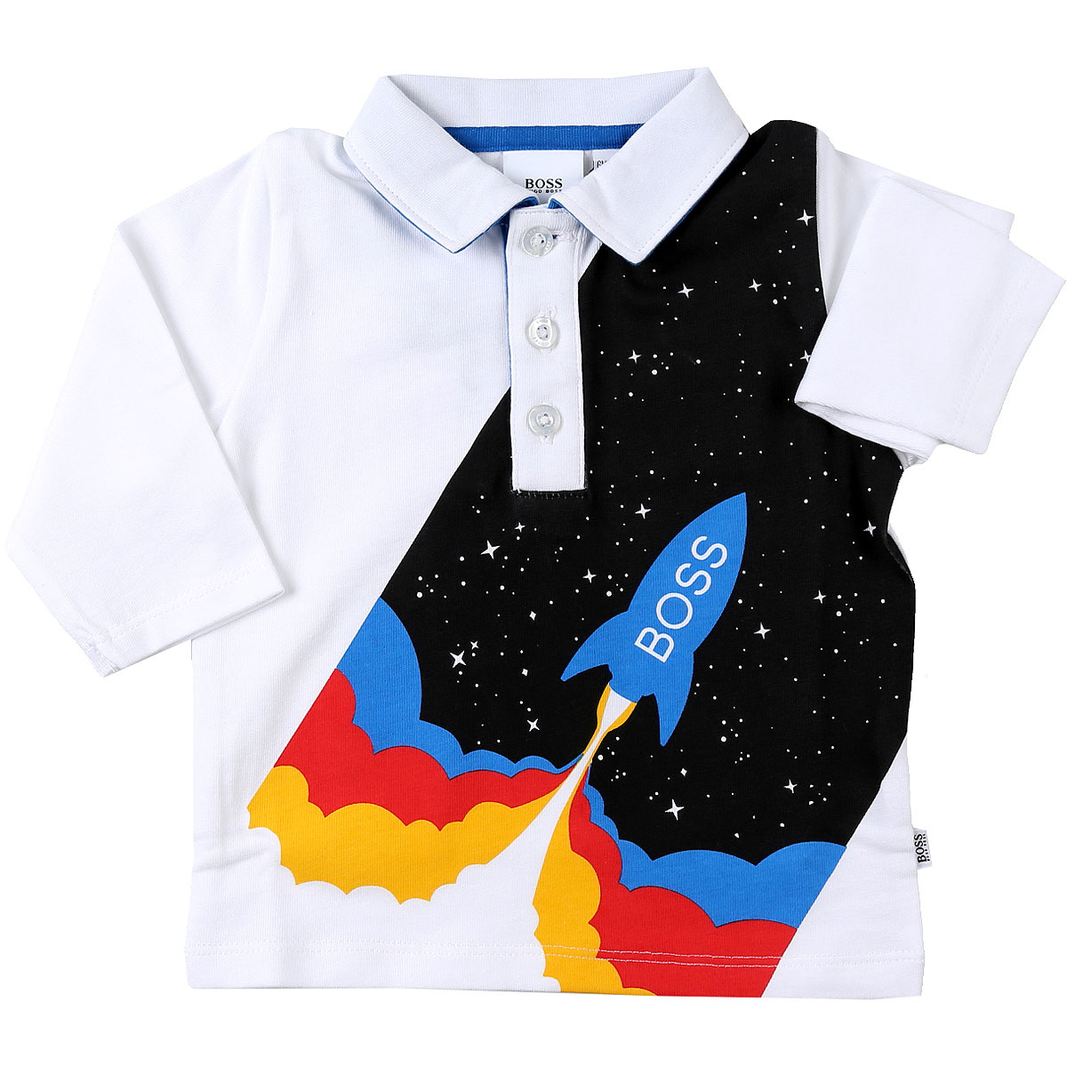 Hugo Boss Baby Polo Shirt for Boys On Sale, White, Cotton, 2019, 12 M 18M 2Y 3Y 6M 9M
