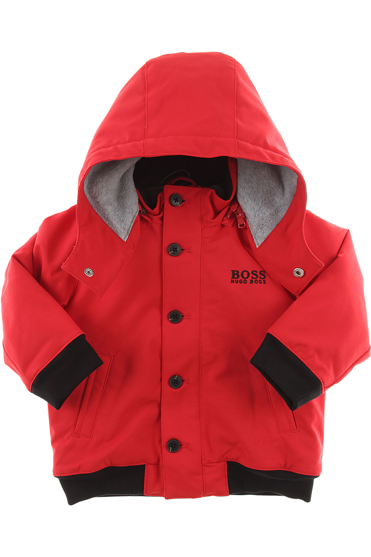 Image of Hugo Boss Baby Coats for Boys, Red, polyester, 2017, 12M 2Y 3Y