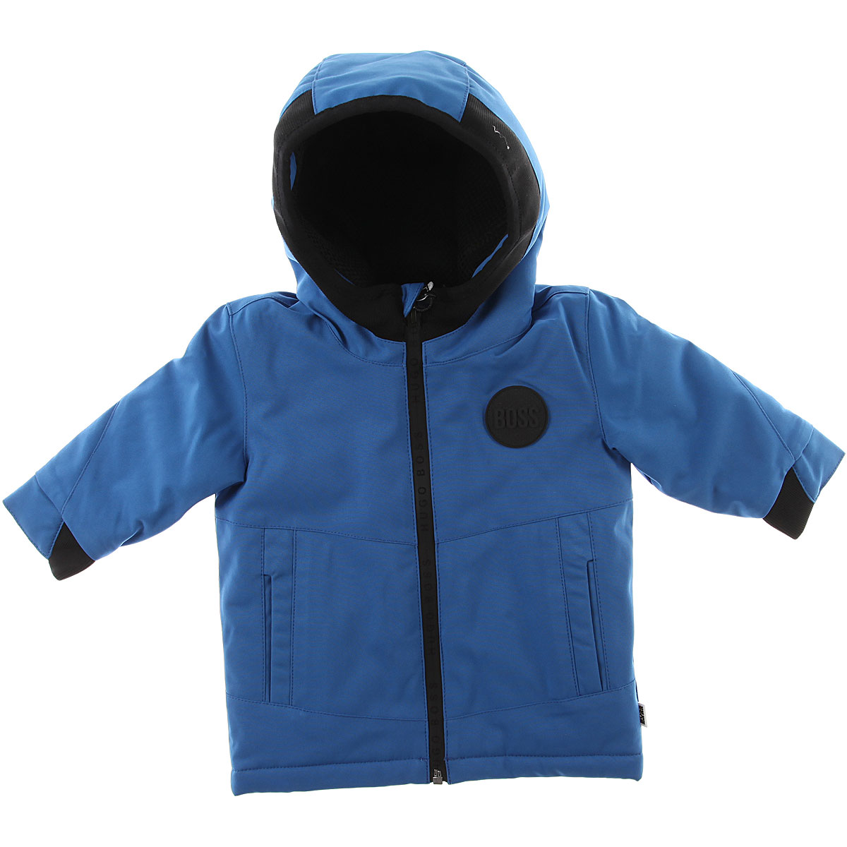 Image of Hugo Boss Baby Down Jacket for Boys, Blue Royal, polyester, 2017, 12M 18M 2Y 3Y 6M 9M