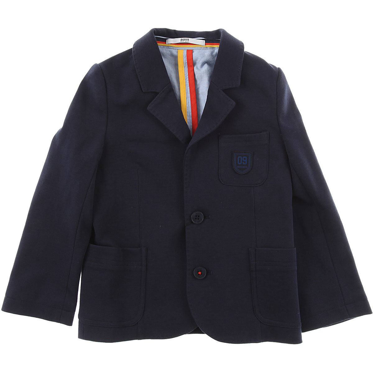 Image of Hugo Boss Baby Jacket for Boys, Navy Blue, Cotton, 2017, 12M 18M 2Y 3Y
