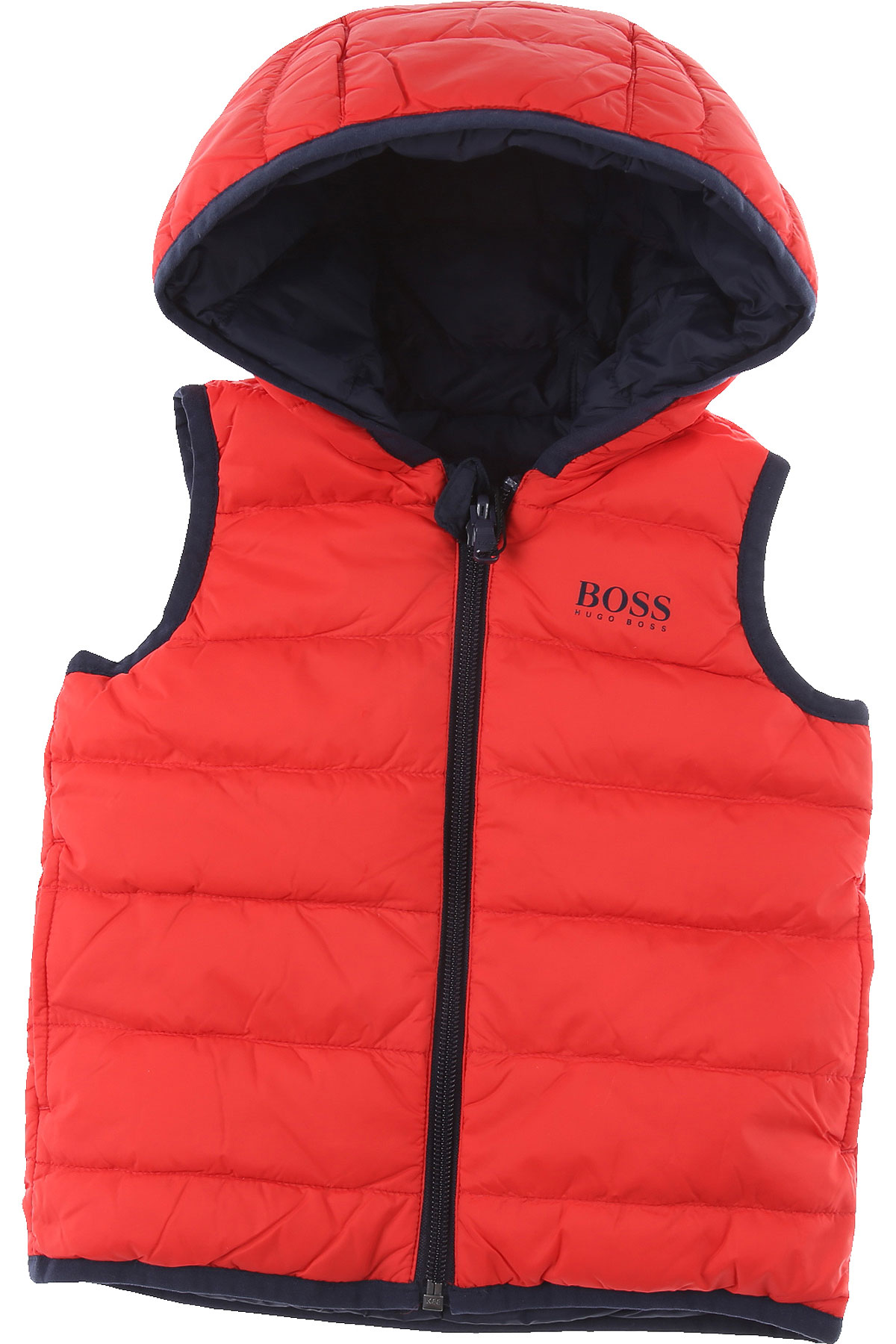 Hugo Boss Baby Down Jacket for Boys On Sale, Red, polyamide, 2019, 12 M 18M 2Y 3Y 9M