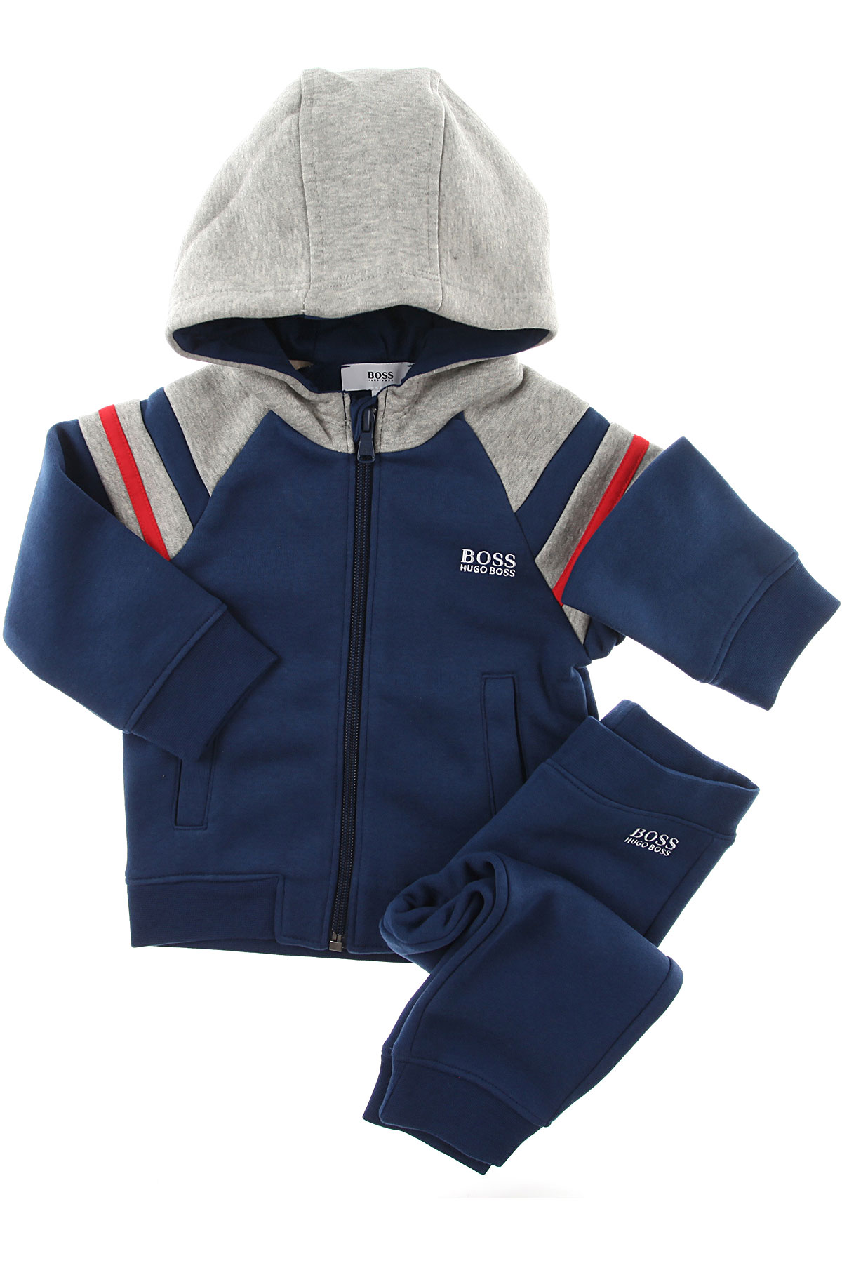 Image of Hugo Boss Baby Sets for Boys, Blue, Cotton, 2017, 12M 18M 2Y 3Y