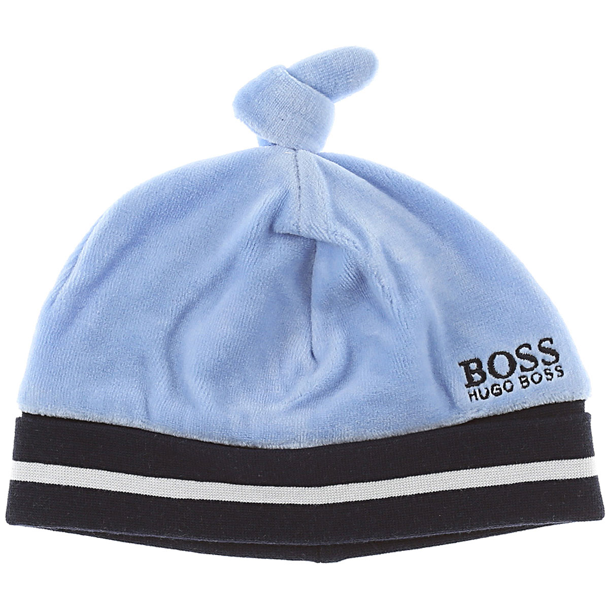 Image of Hugo Boss Baby Hats for Boys, Heavenly, Cotton, 2017, 44 46 48 50