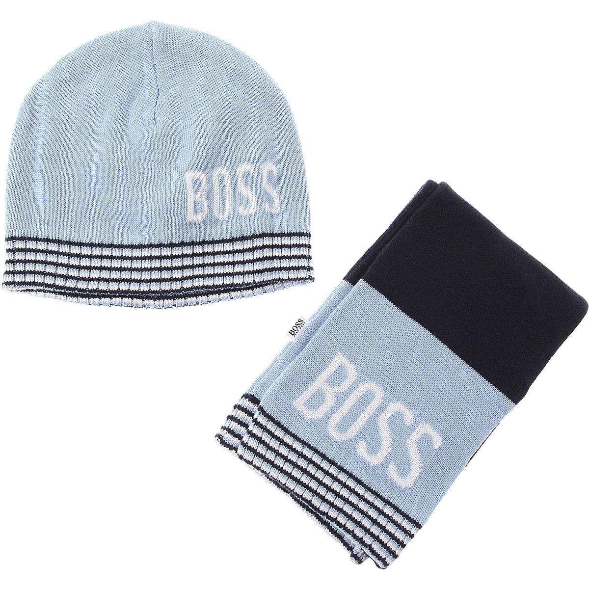 Image of Hugo Boss Baby Sets for Boys, Blue, Cotton, 2017, 40 42 44 46 48 50