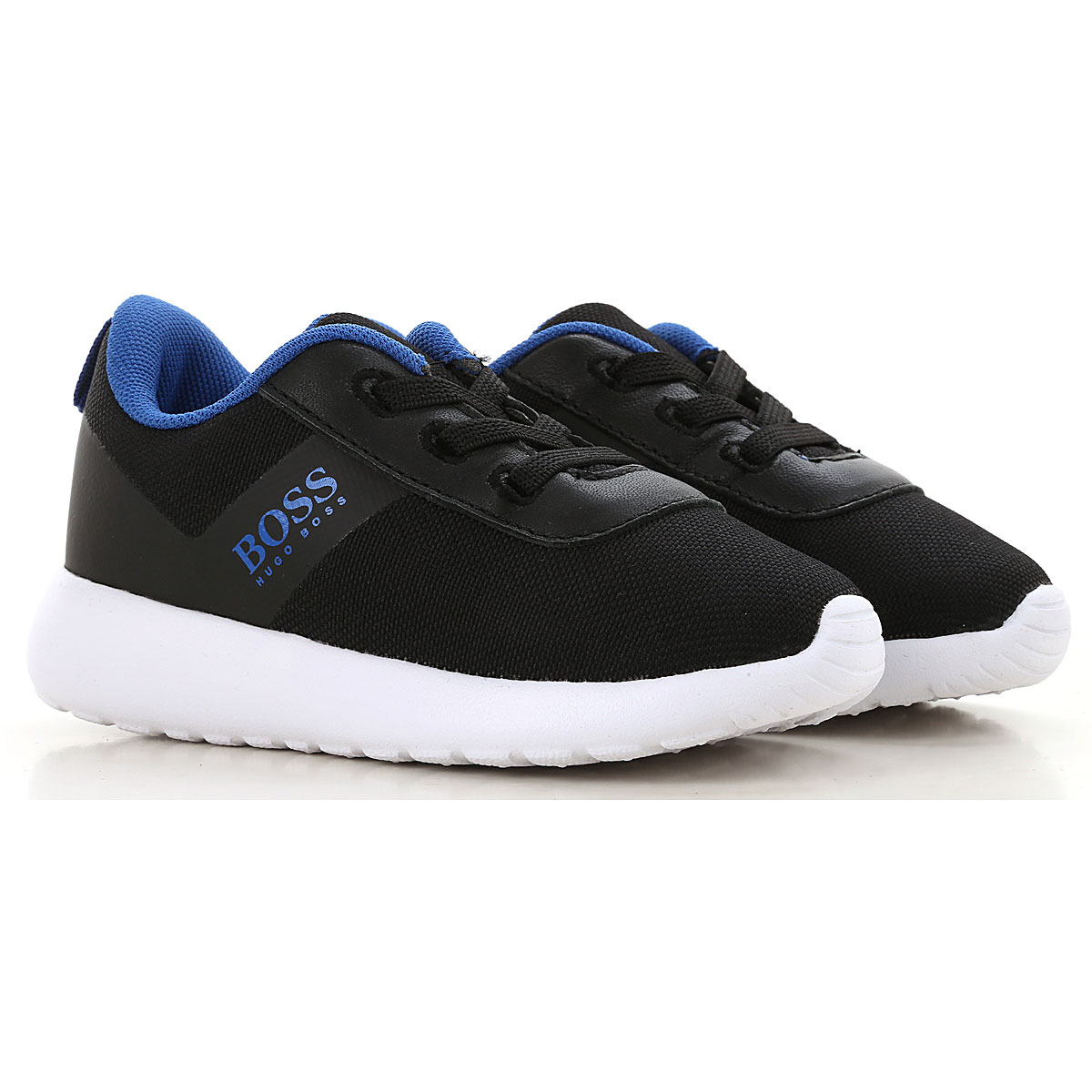 Image of Hugo Boss Sneakers, Black, polyester, 2017, 20 21 22 23 24 25 26