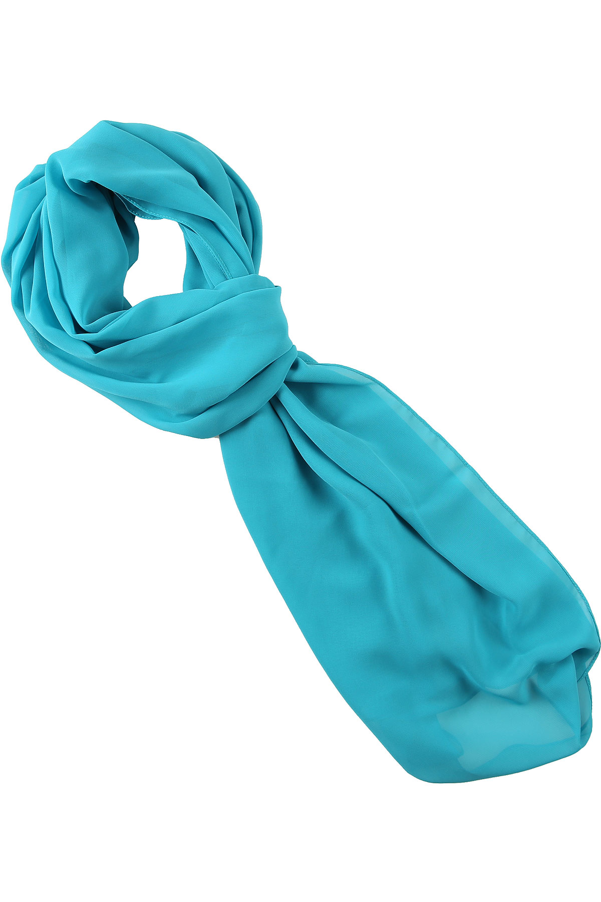 Hanita Scarf for Women On Sale, Turquoise, polyester, 2019