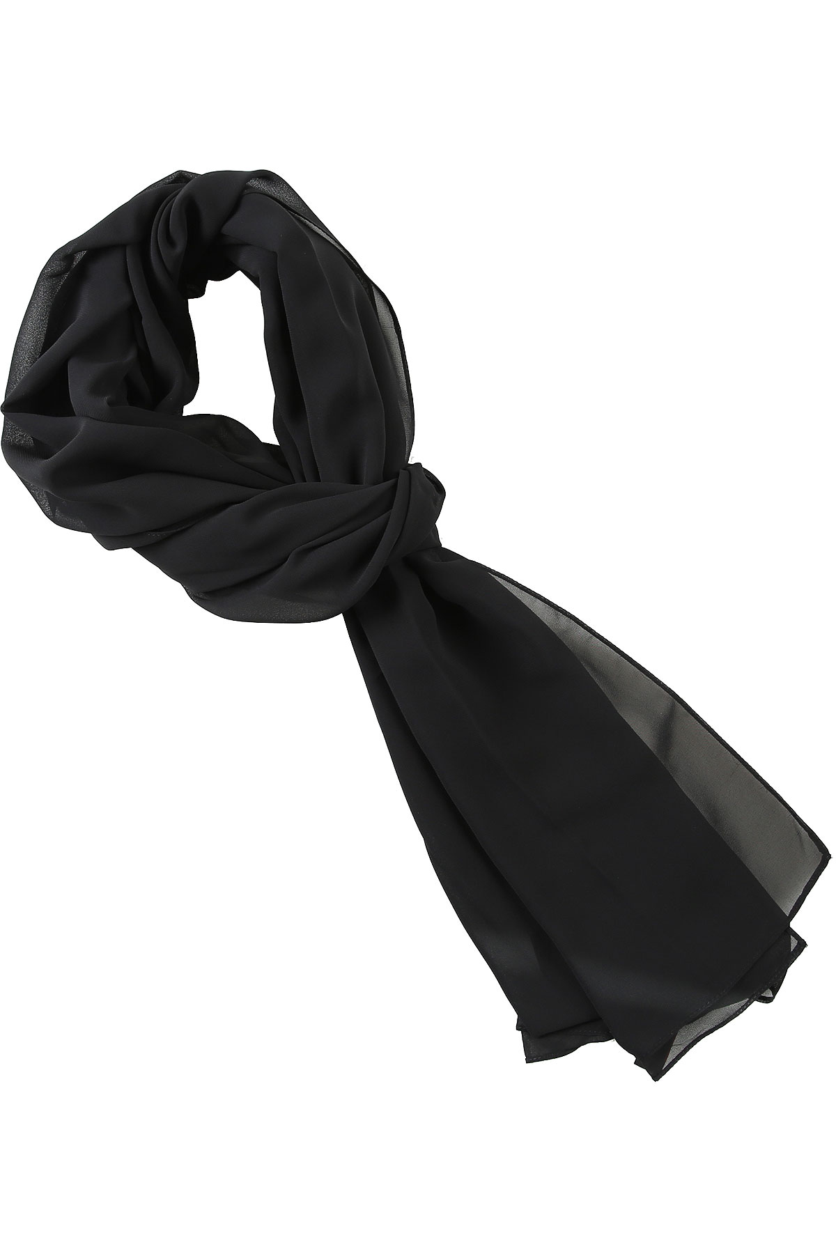 Hanita Scarf for Women On Sale, Black, polyester, 2019