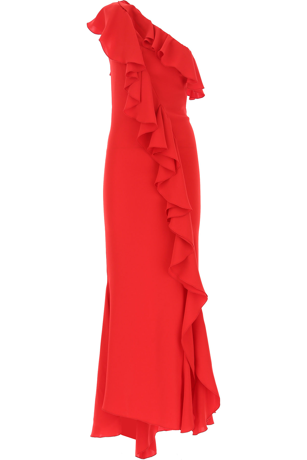 Hanita Dress for Women, Evening Cocktail Party On Sale, Red, polyester, 2019, 2 4 6