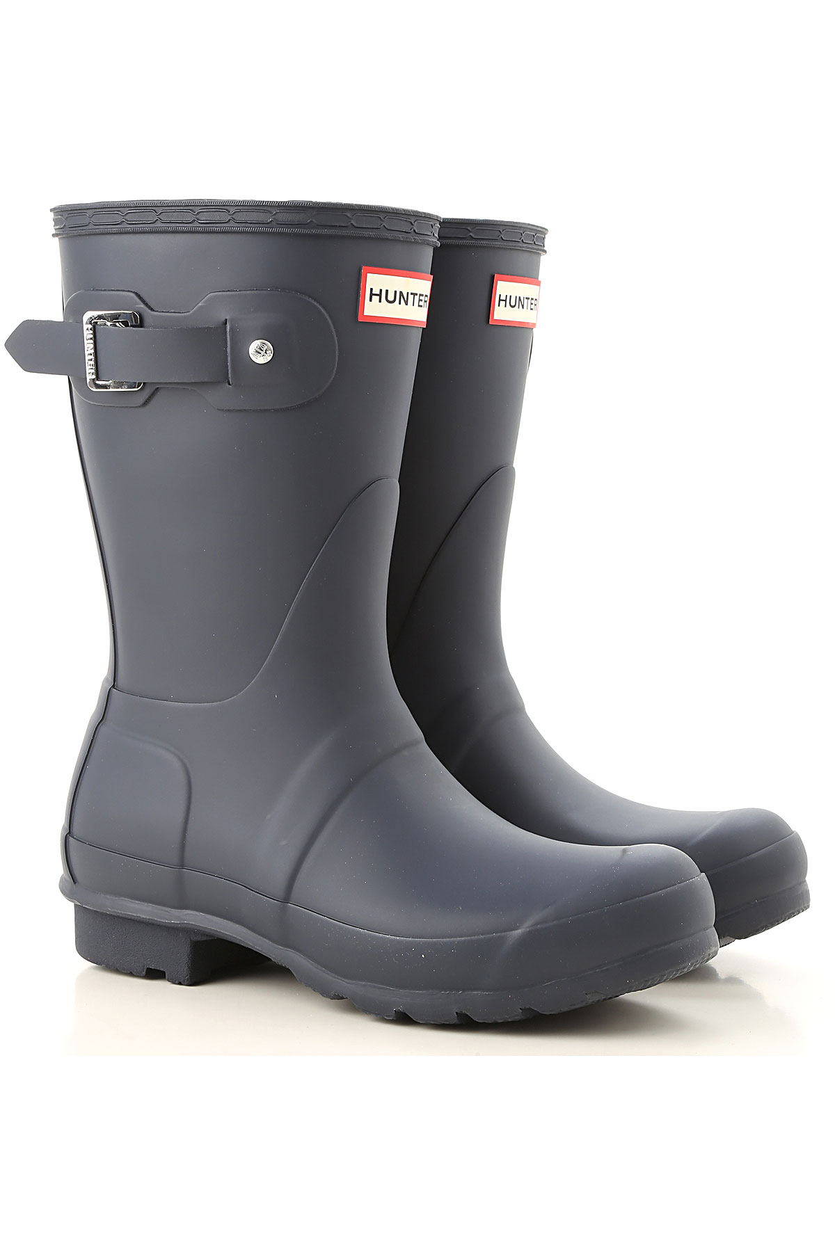 Image of Hunter Boots for Women, Booties, navy, Rubber, 2017, 6 7 8 9