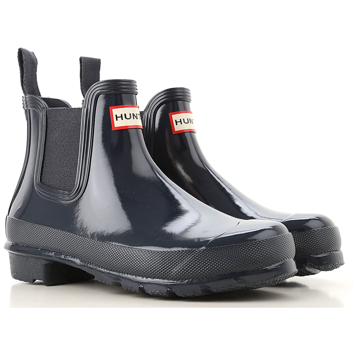 Image of Hunter Boots for Women, Booties, navy, Rubber, 2017, 6 7 9
