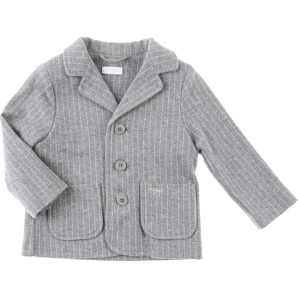 Il Gufo Baby Blazer for Boys On Sale, Light Grey, Cotton, 2019, 12 M 18M 2Y 9M
