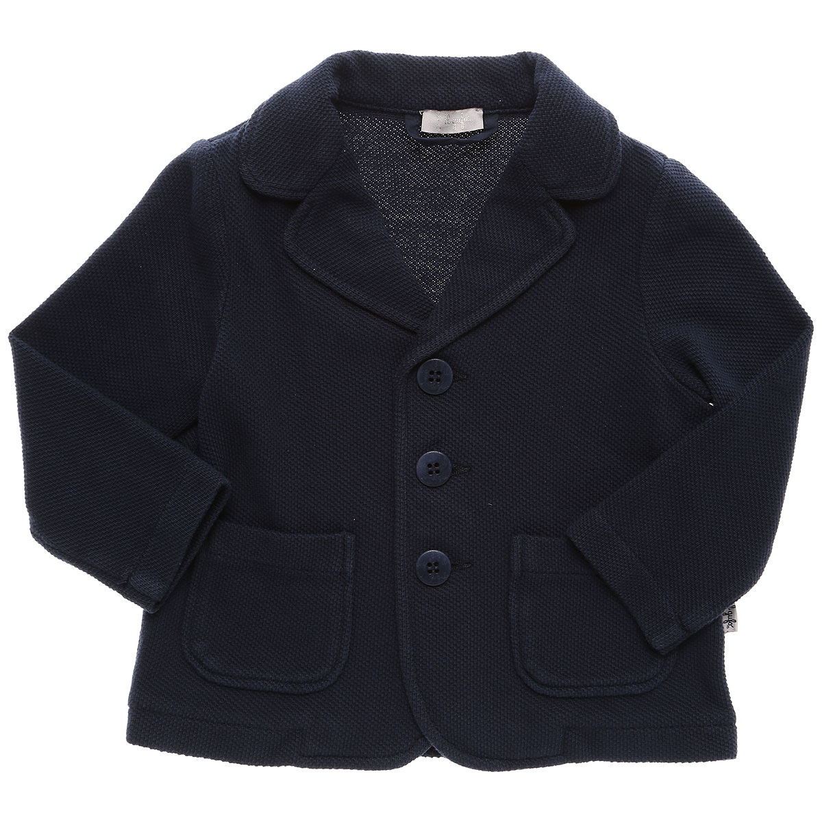 Il Gufo Baby Blazer for Boys On Sale, Blue, Cotton, 2019, 3M 6M 9M