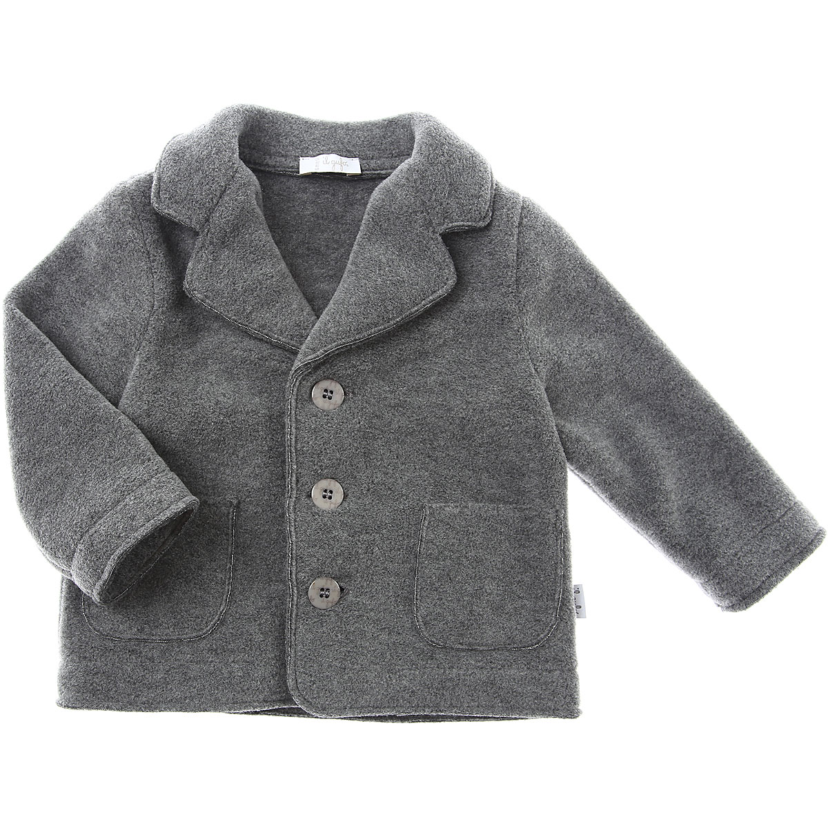 Il Gufo Baby Jacket for Boys On Sale, Grey, polyester, 2019, 12 M 18M 2Y 6M