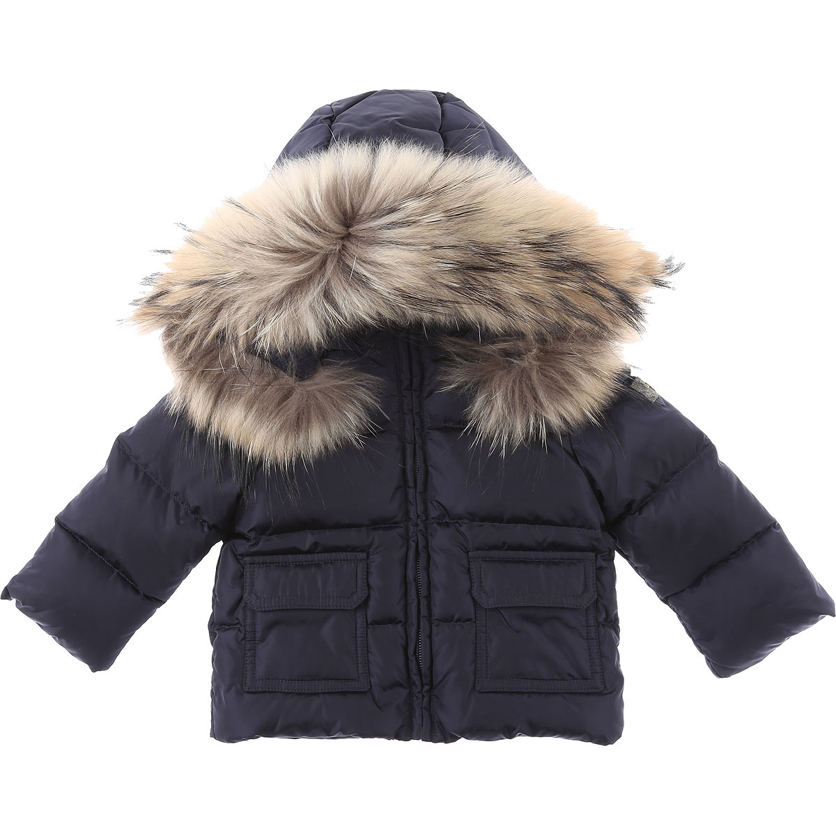Il Gufo Baby Down Jacket for Boys On Sale, Blue, polyester, 2019, 12 M 18M 2Y 6M 9M