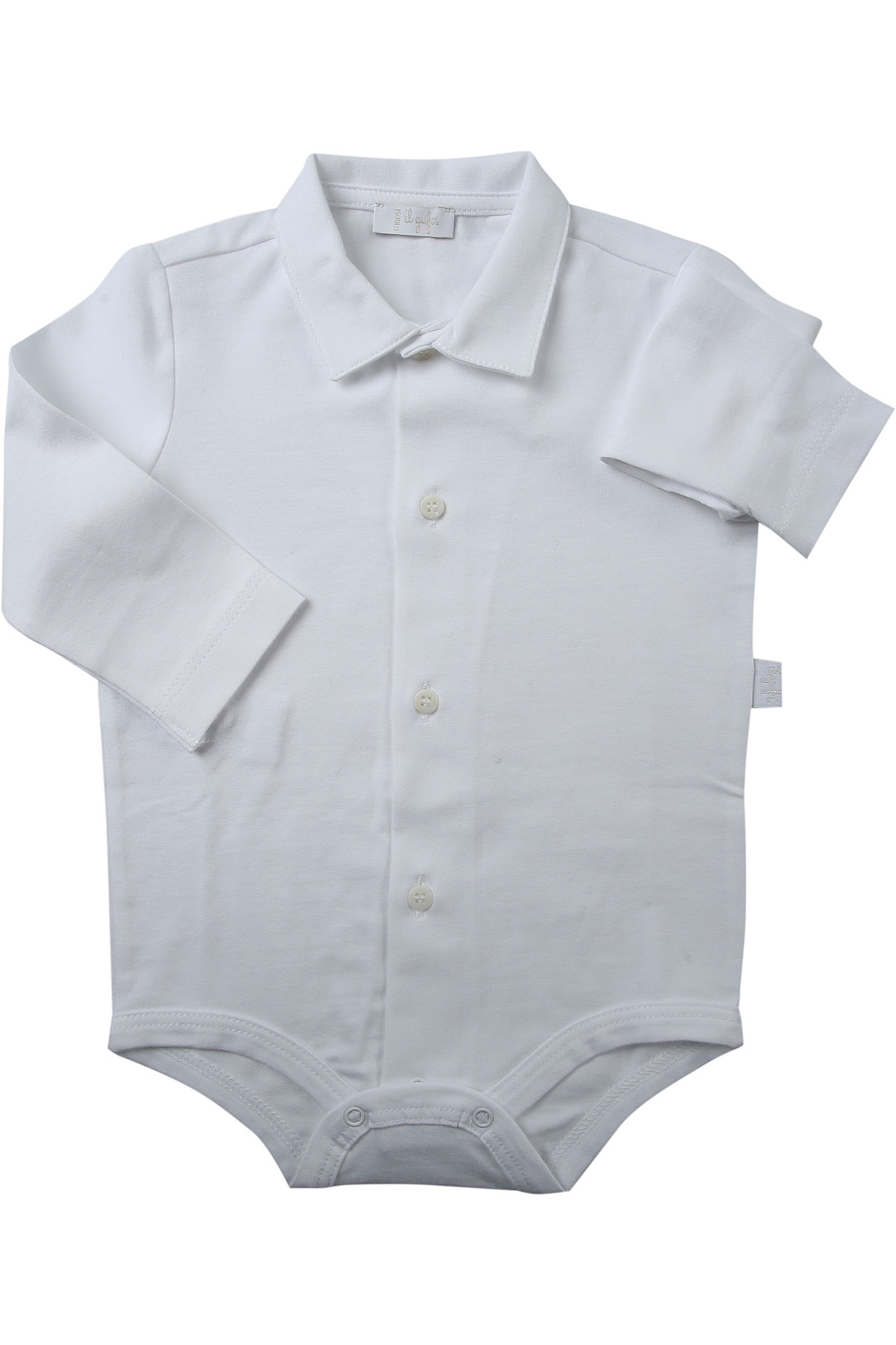 Image of Il Gufo Baby Bodysuits & Onesies for Boys, White, Cotton, 2017, 12M 18M 2Y 6M 9M