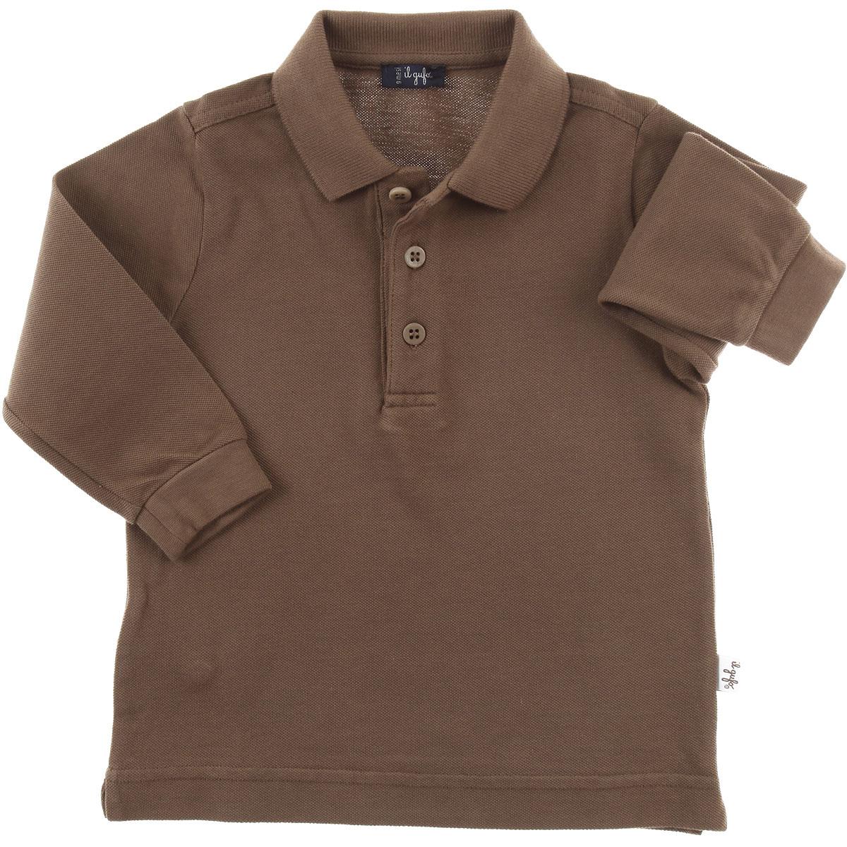 Image of Il Gufo Baby Polo Shirt for Boys, Teck, Cotton, 2017, 12M 18M 6M 9M