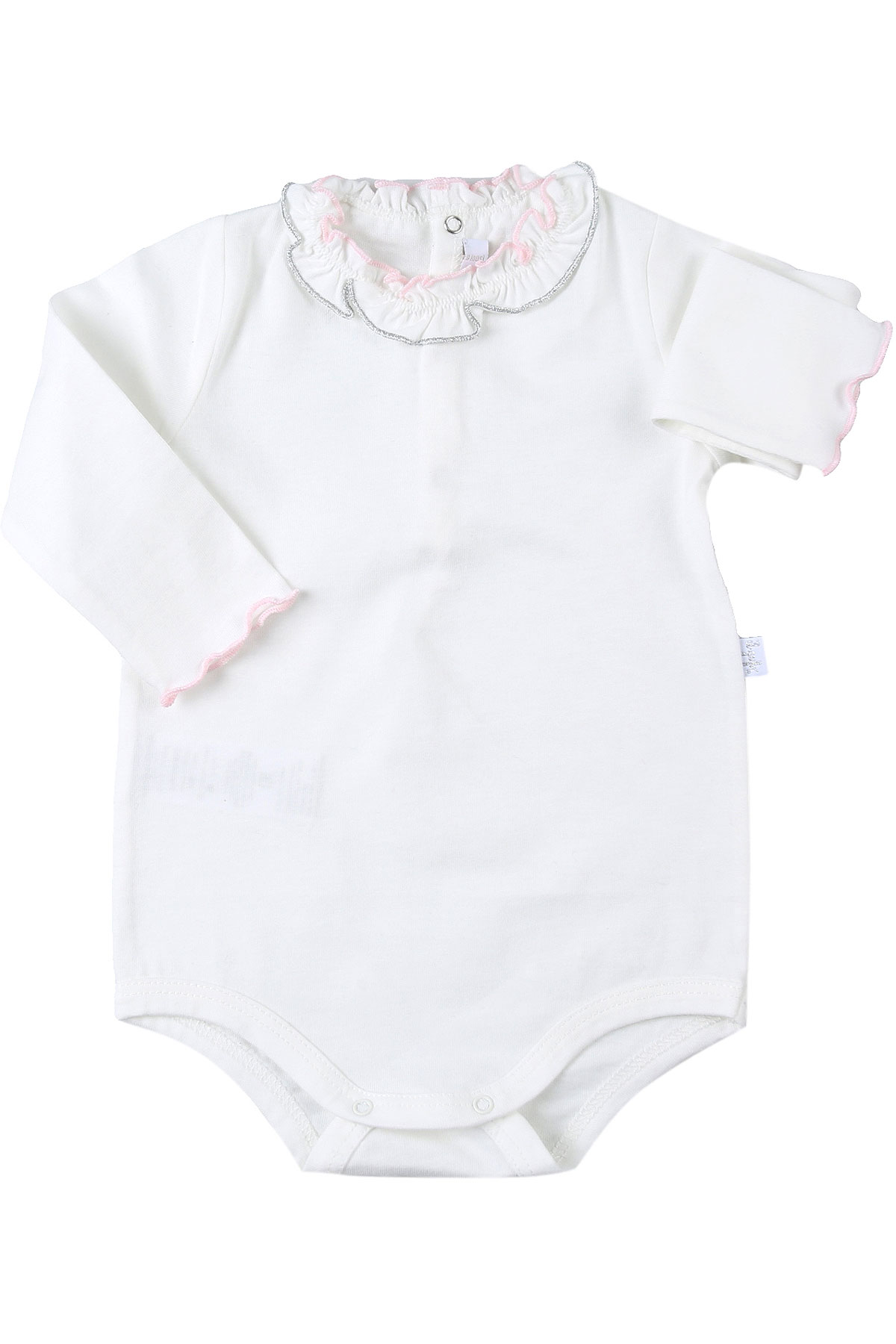 Il Gufo Baby Bodysuits & Onesies for Girls On Sale, White, Cotton, 2019, 18M 3M 6M