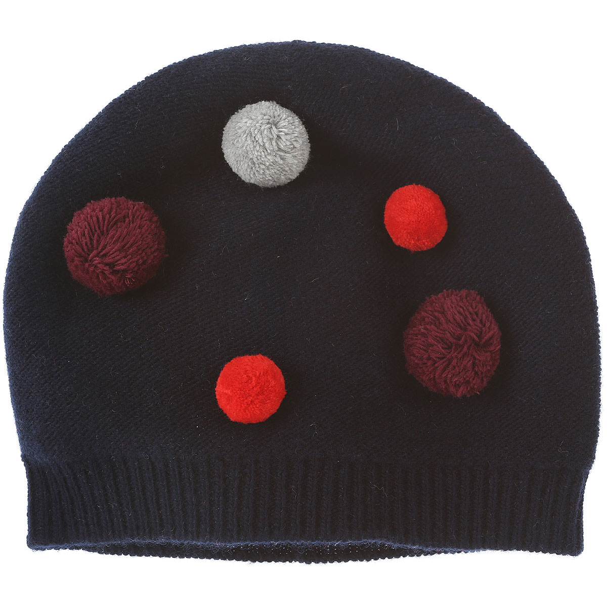 Image of Il Gufo Baby Hats for Girls On Sale in Outlet, Blue, Wool, 2017, 48 52