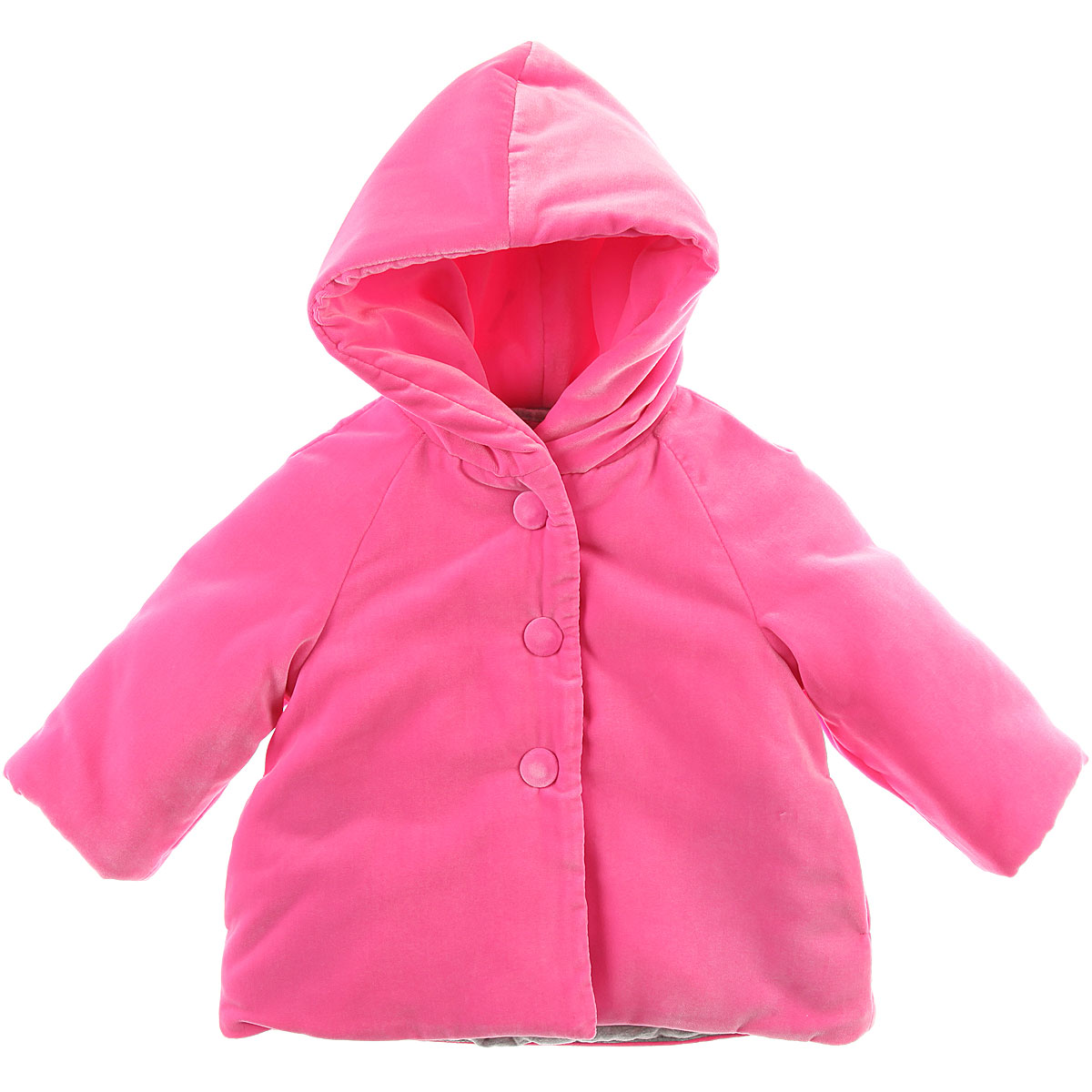 Image of Il Gufo Baby Coats for Girls, Pink, polyester, 2017, 12M 18M 6M 9M