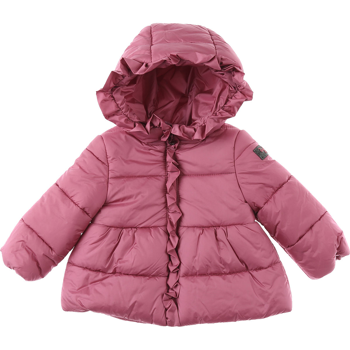 Il Gufo Baby Down Jacket for Girls On Sale, Pink, polyamide, 2019, 12M 18M 2Y 3Y 6M 9M