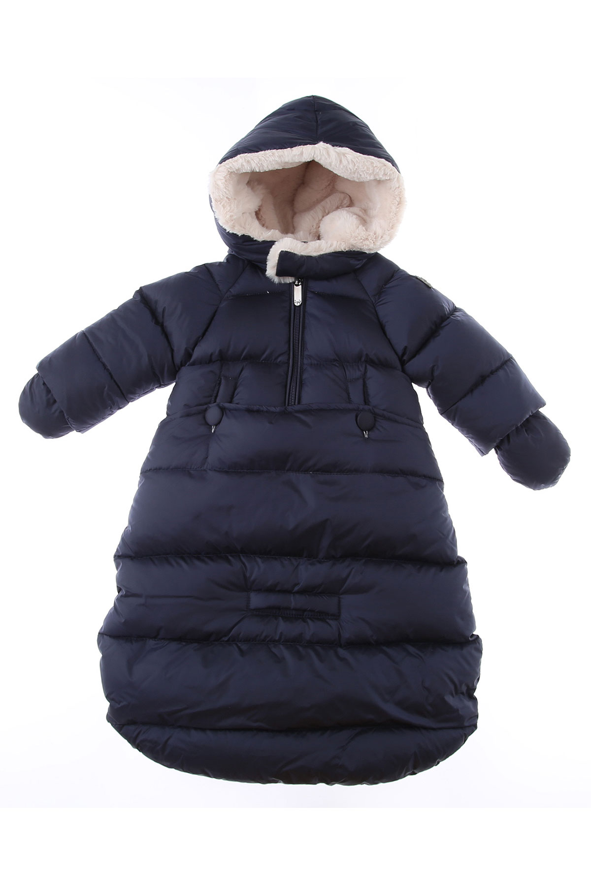 Il Gufo Baby Down Jacket for Girls On Sale, Blue, polyamide, 2019, 3M 6M 9M