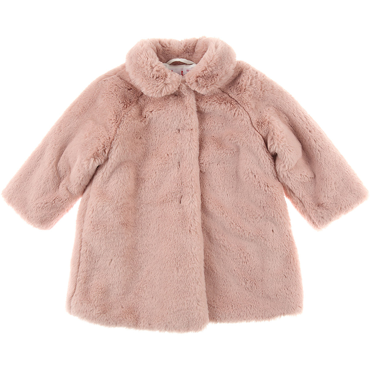 Image of Il Gufo Baby Jacket for Girls, Pink, polyester, 2017, 12M 18M 2Y 4Y 6M 9M