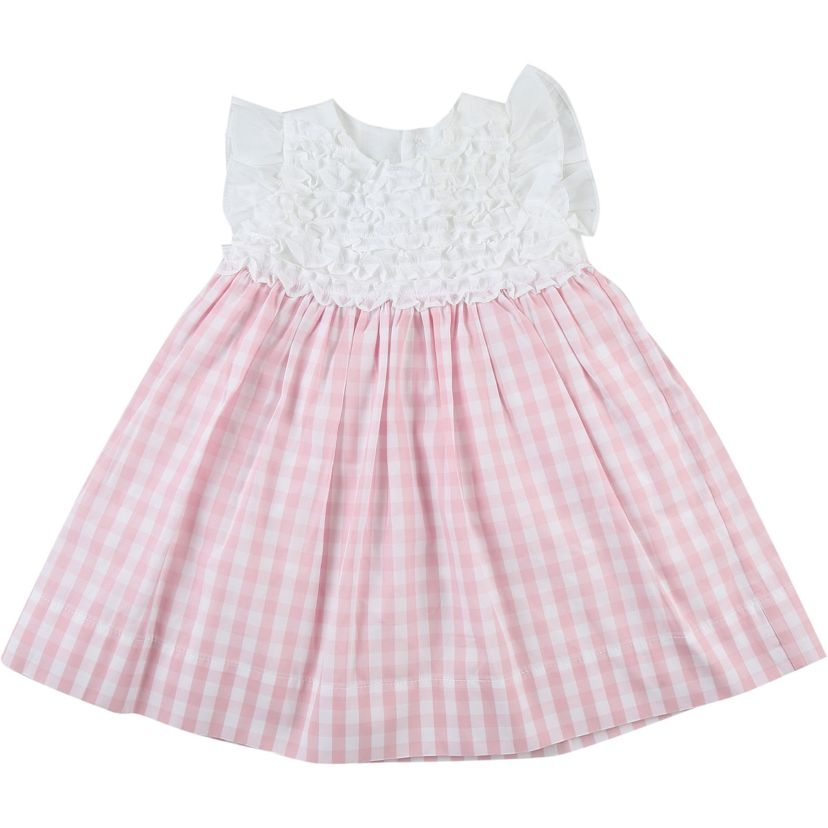 Il Gufo Baby Dress for Girls On Sale in Outlet, Pink, Cotton, 2019, 12M 2Y