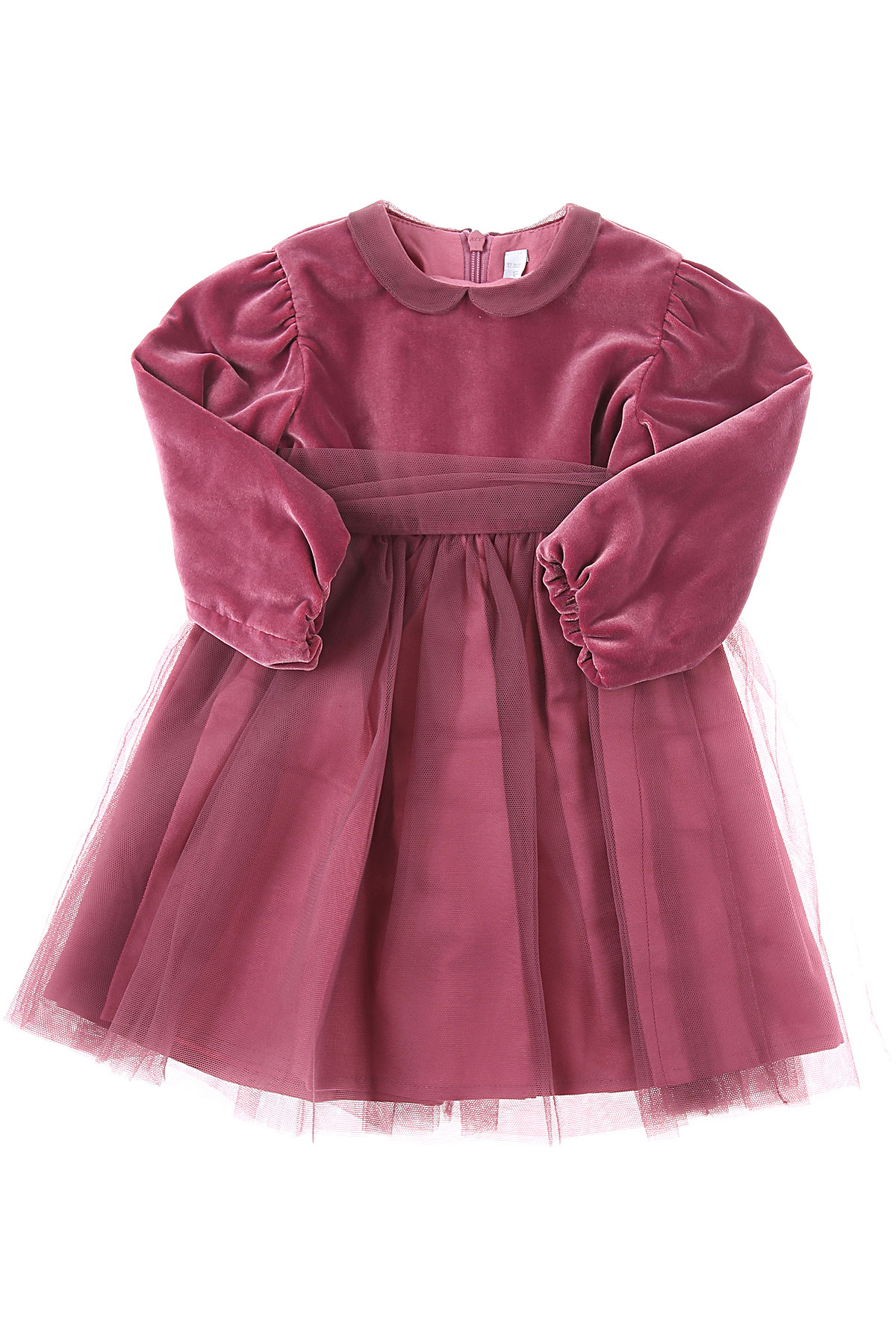 Il Gufo Baby Dress for Girls On Sale, Magenta, polyester, 2019, 12M 18M 2Y 3M 3Y 9M